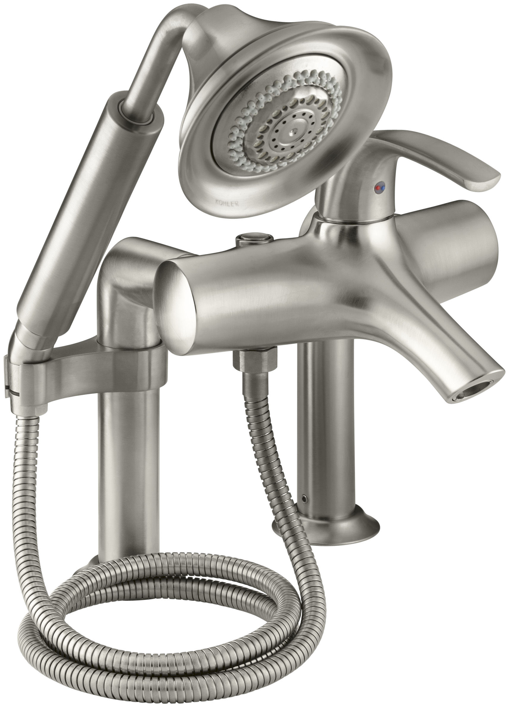 kohler roman tub faucet with hand shower. Kohler K 18486 4 CP Polished Chrome Single Handle Roman Tub Faucet with  Metal Lever and Handshower from the Symbol Series com