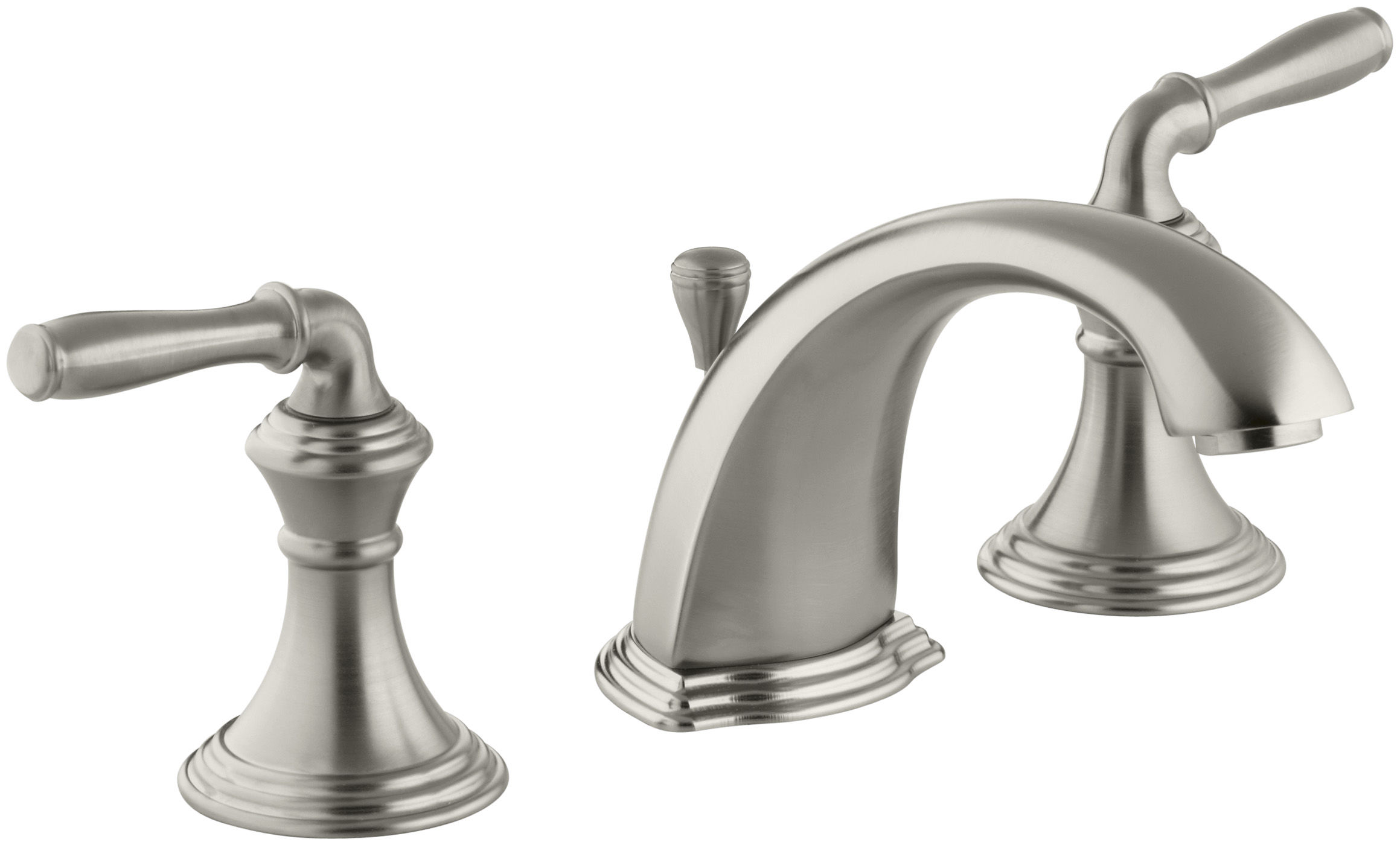 sink gooseneck handles spout faucets faucet k kohler cross purist widespread low and with bathroom pin