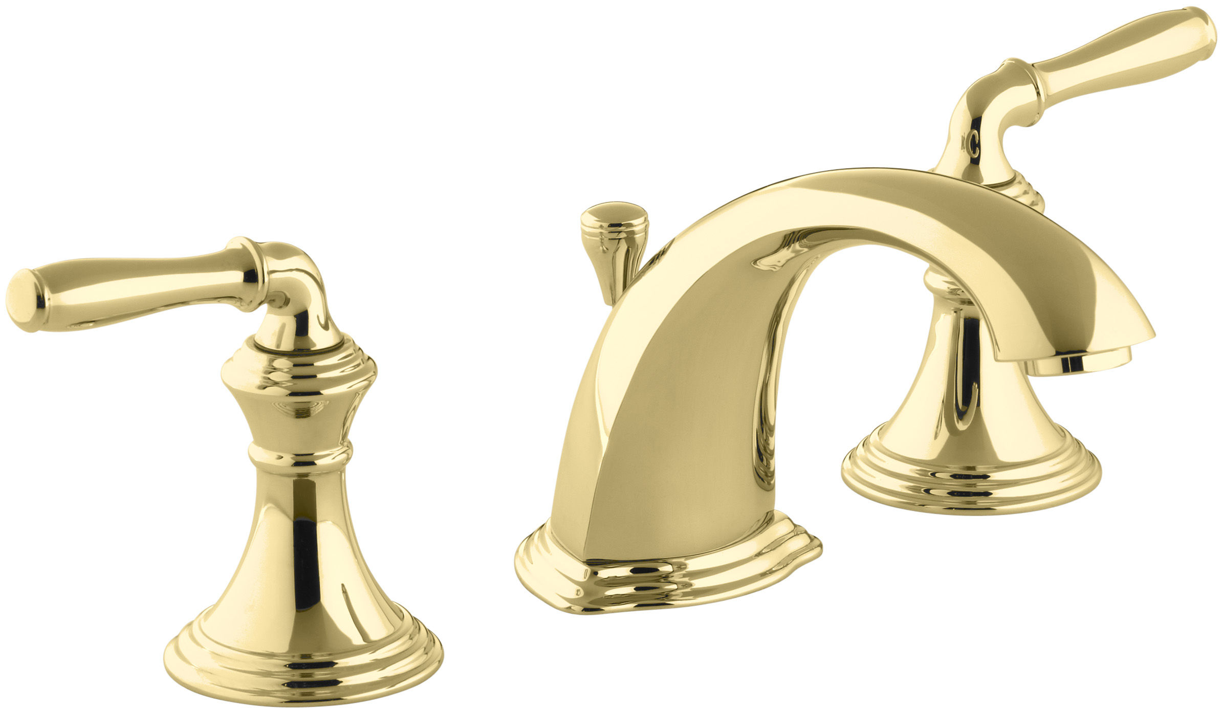 Kohler K-394-4-CB Polished Chrome/Polished Brass Devonshire ...