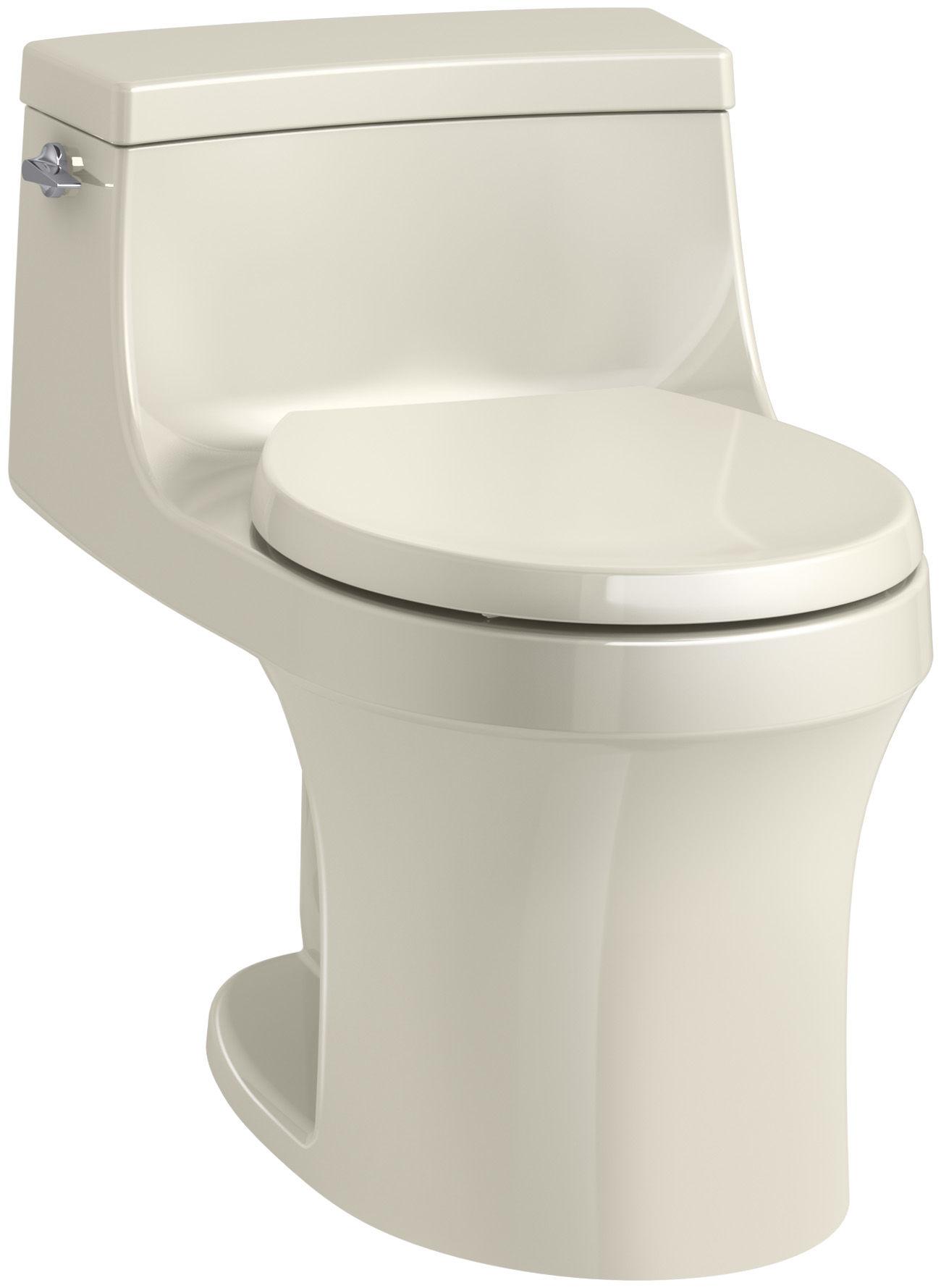 Stupendous Kohler K 4007 0 White San Souci 1 28 Gpf One Piece Round Pabps2019 Chair Design Images Pabps2019Com