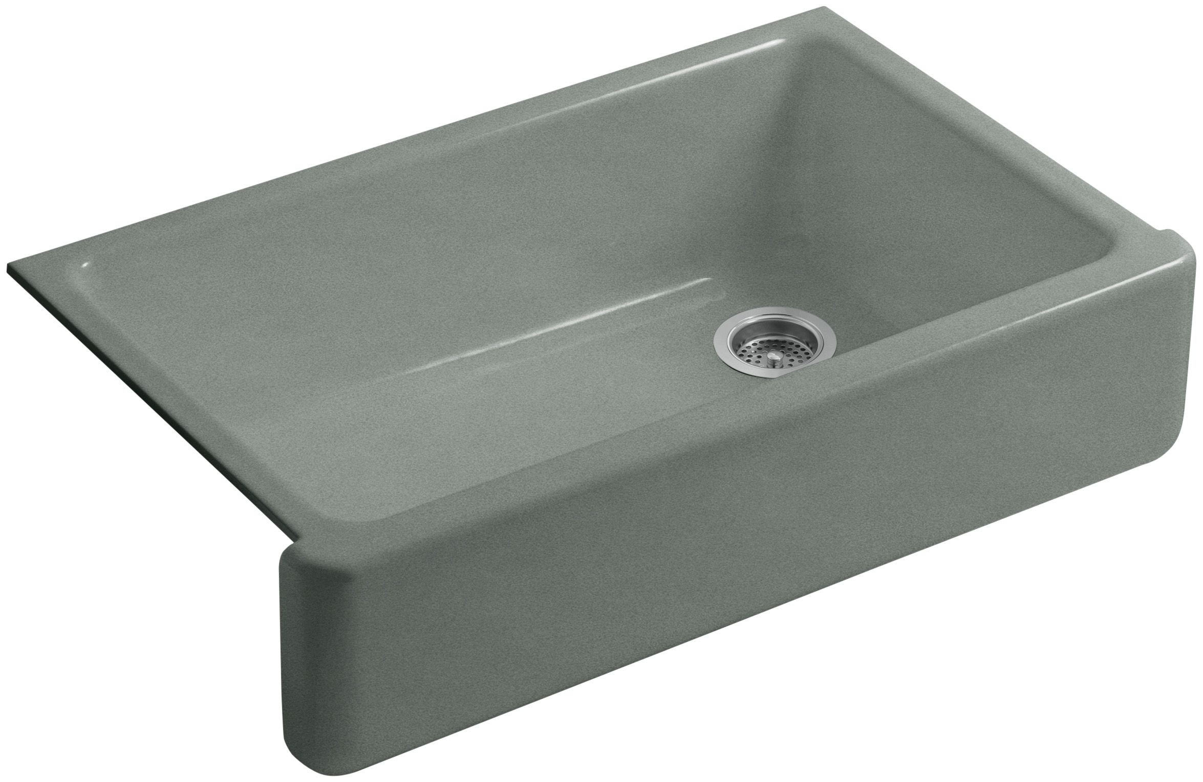 kohler k 6489 0 white whitehaven 36 single basin undermount