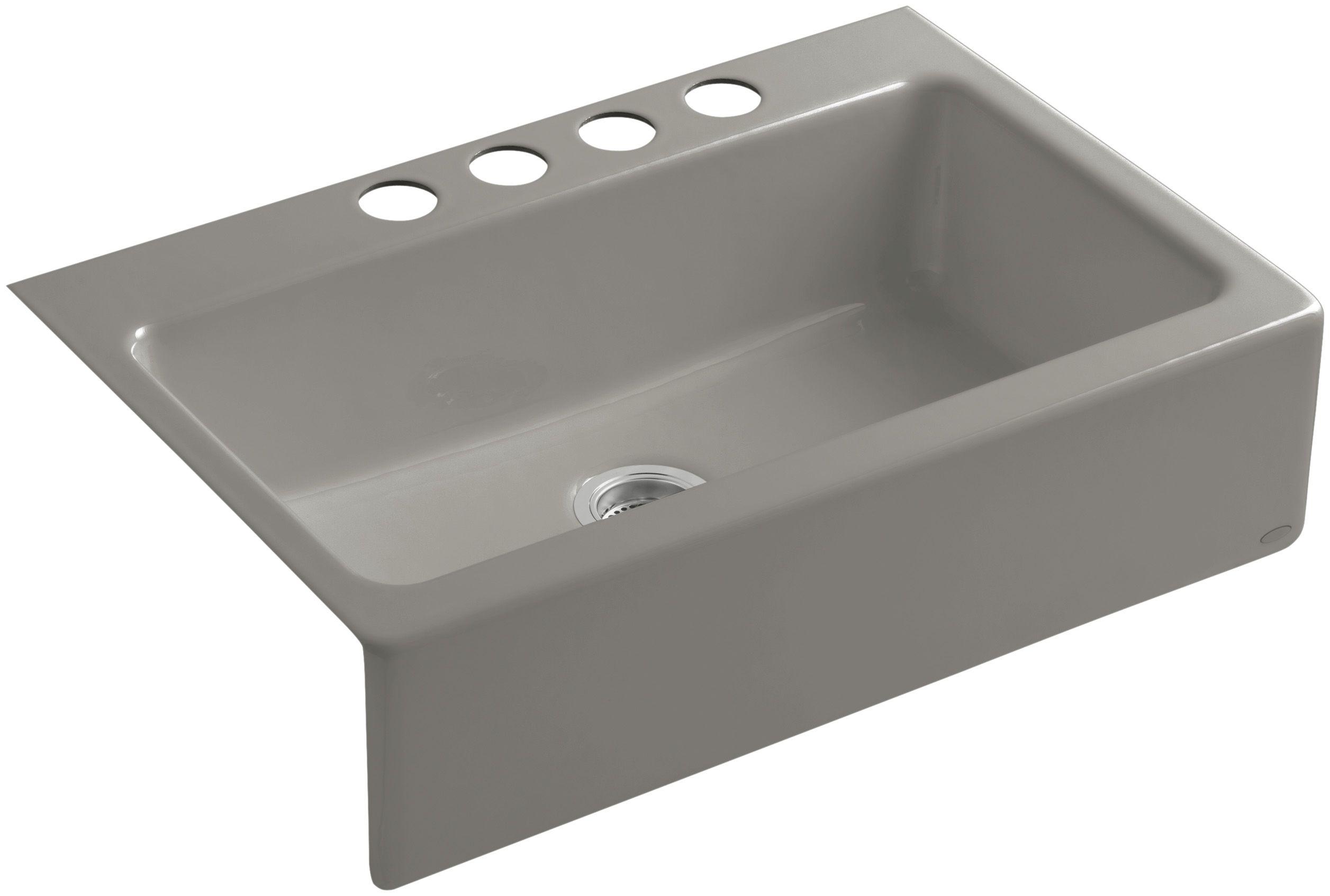 Kohler Apron Front Sink.Kohler K 6546 4u
