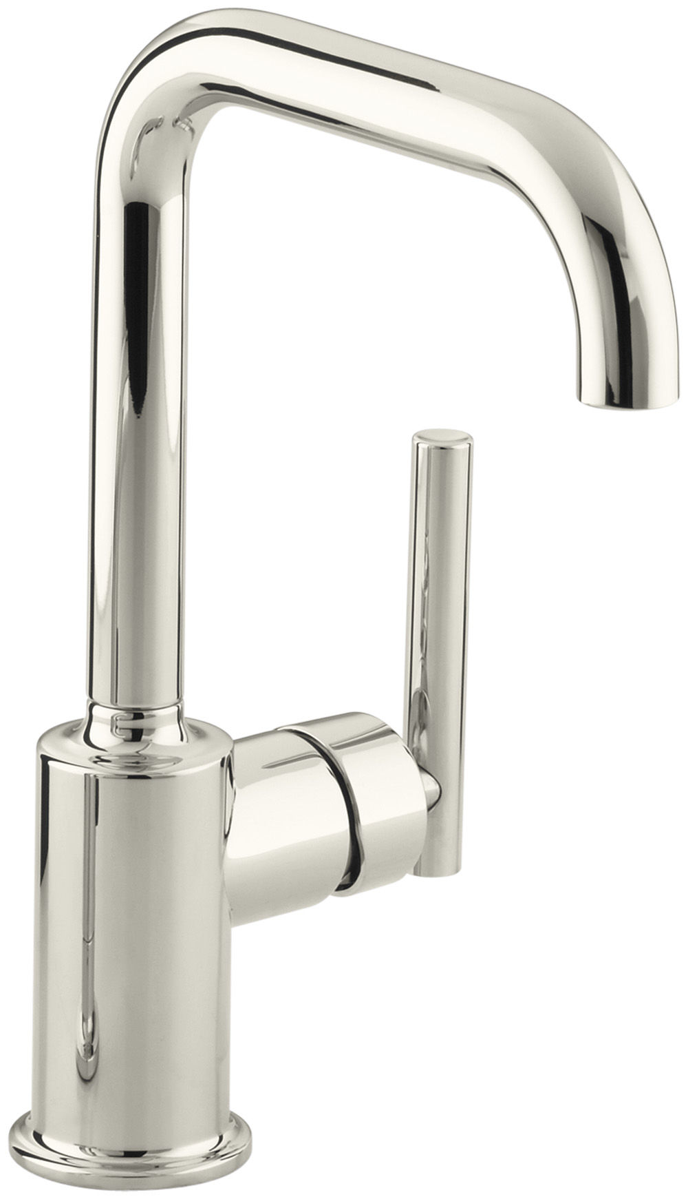 Kohler K-7509-CP Polished Chrome Single Handle Bar Faucet from the ...