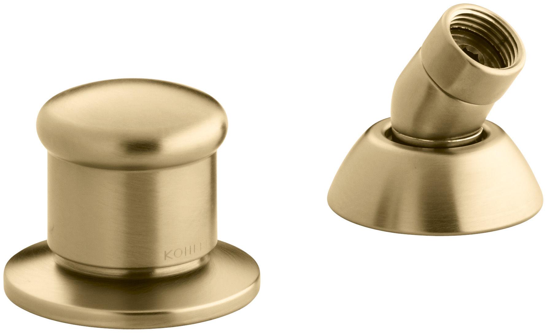 Kohler K 8549 Bv Brushed Bronze Alterna Deck Mount Diverter And