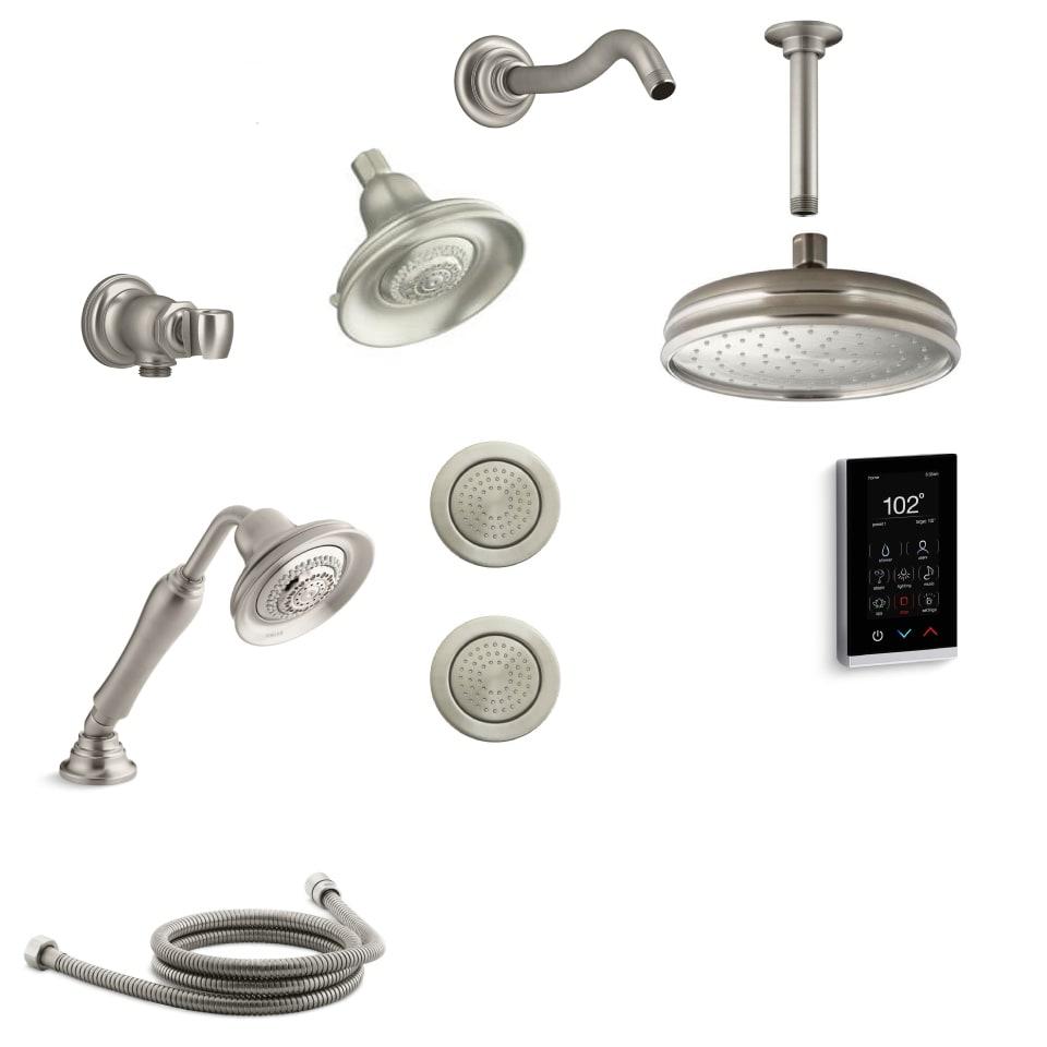 Kohler K BANCROFT DTV28 BV Vibrant Brushed Bronze Bancroft DTV+ Shower  System With Multi Function Shower Head, Hand Shower, Rain Head, Body  Sprays, ...