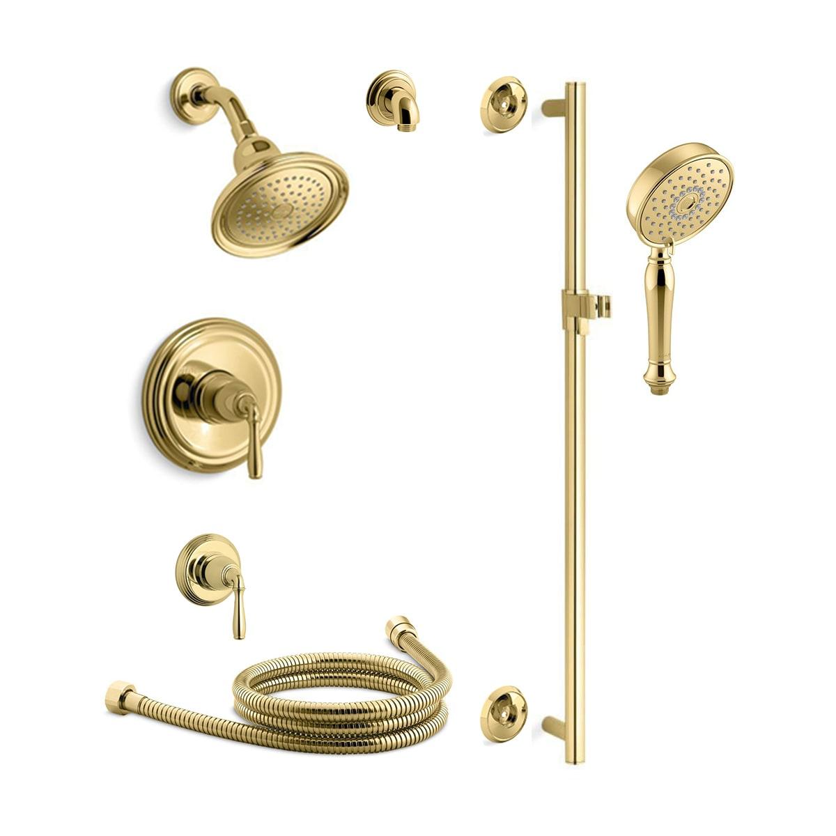 Kohler Kss Devonshire 4 Rths Pb Vibrant Polished Brass