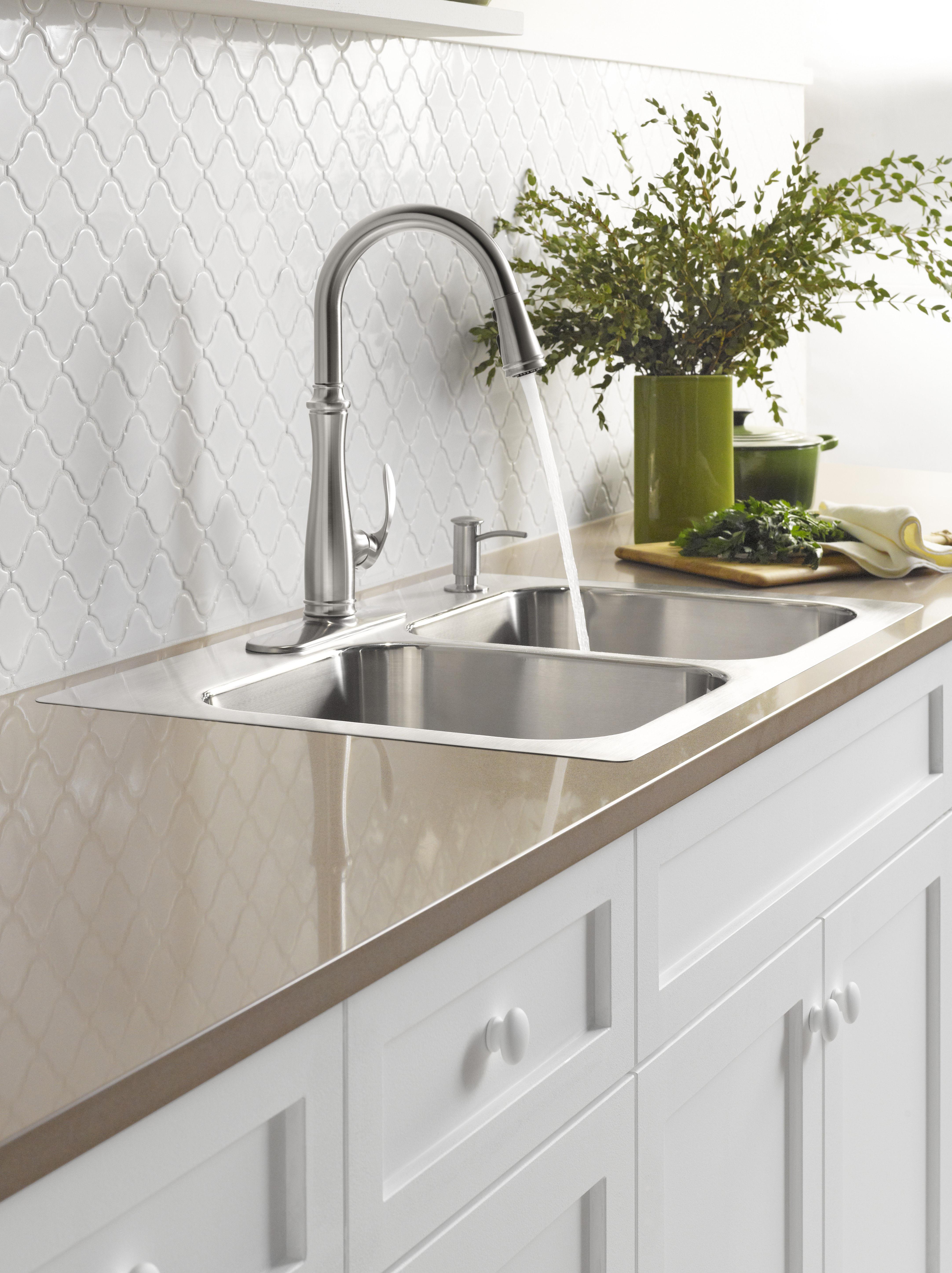 polished faucet kohler bellera toilet kcp tissue sculpted faucets holder forte