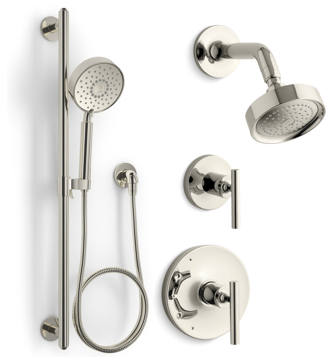 Kohler Kss Purist 4 Rths Cp Polished Chrome Purist Pressure