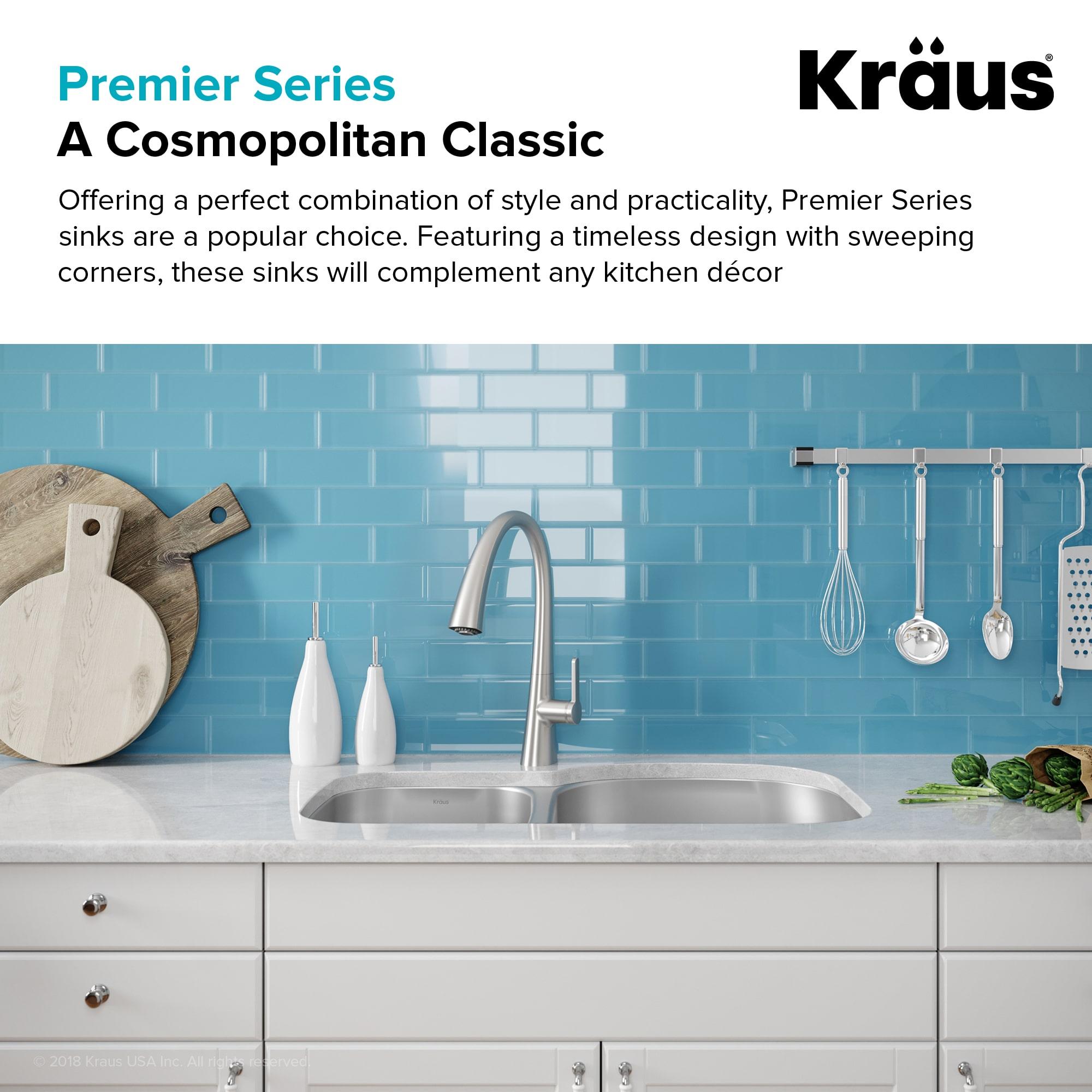 Kraus KBU25 Stainless Steel 32-3/8\
