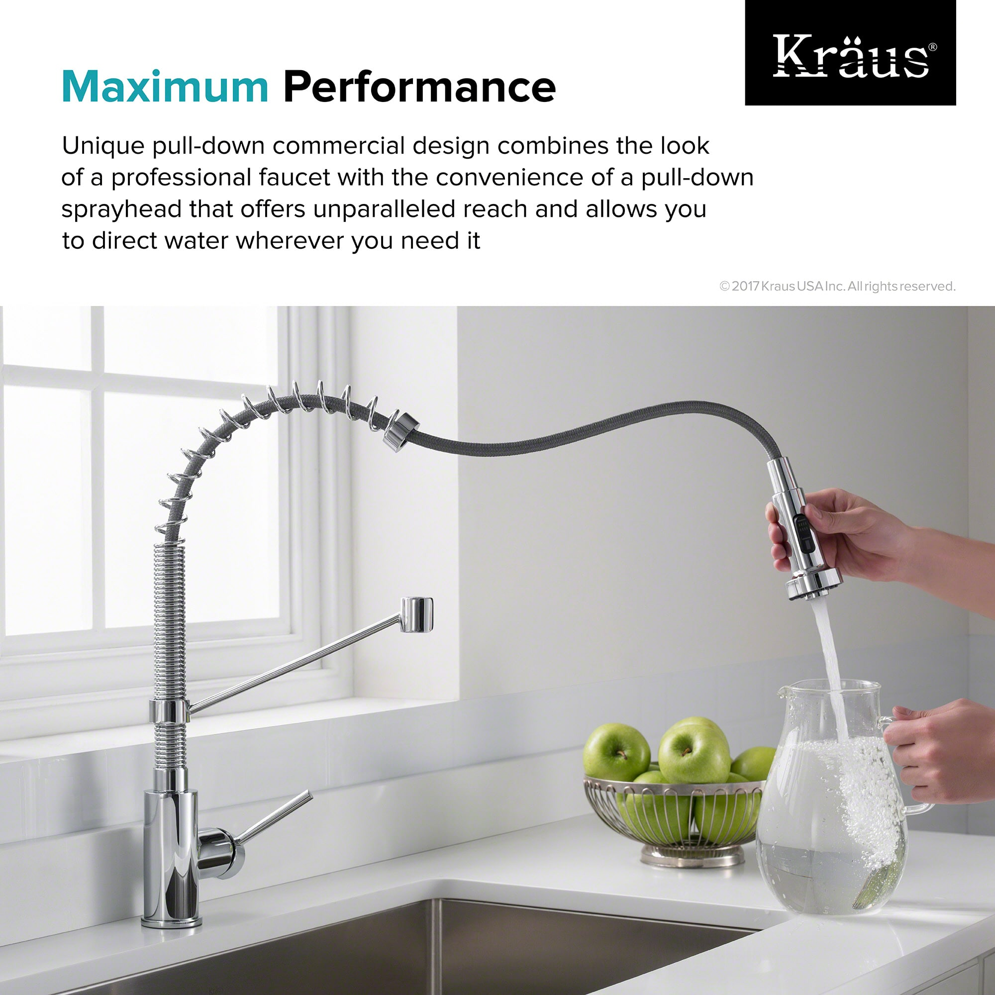 ideas coh design for kraus decor ufaucet down and ufauceth chrome pull excellent best spring sprayer fabulous commercial kitchen faucets captivating faucet modern with sink
