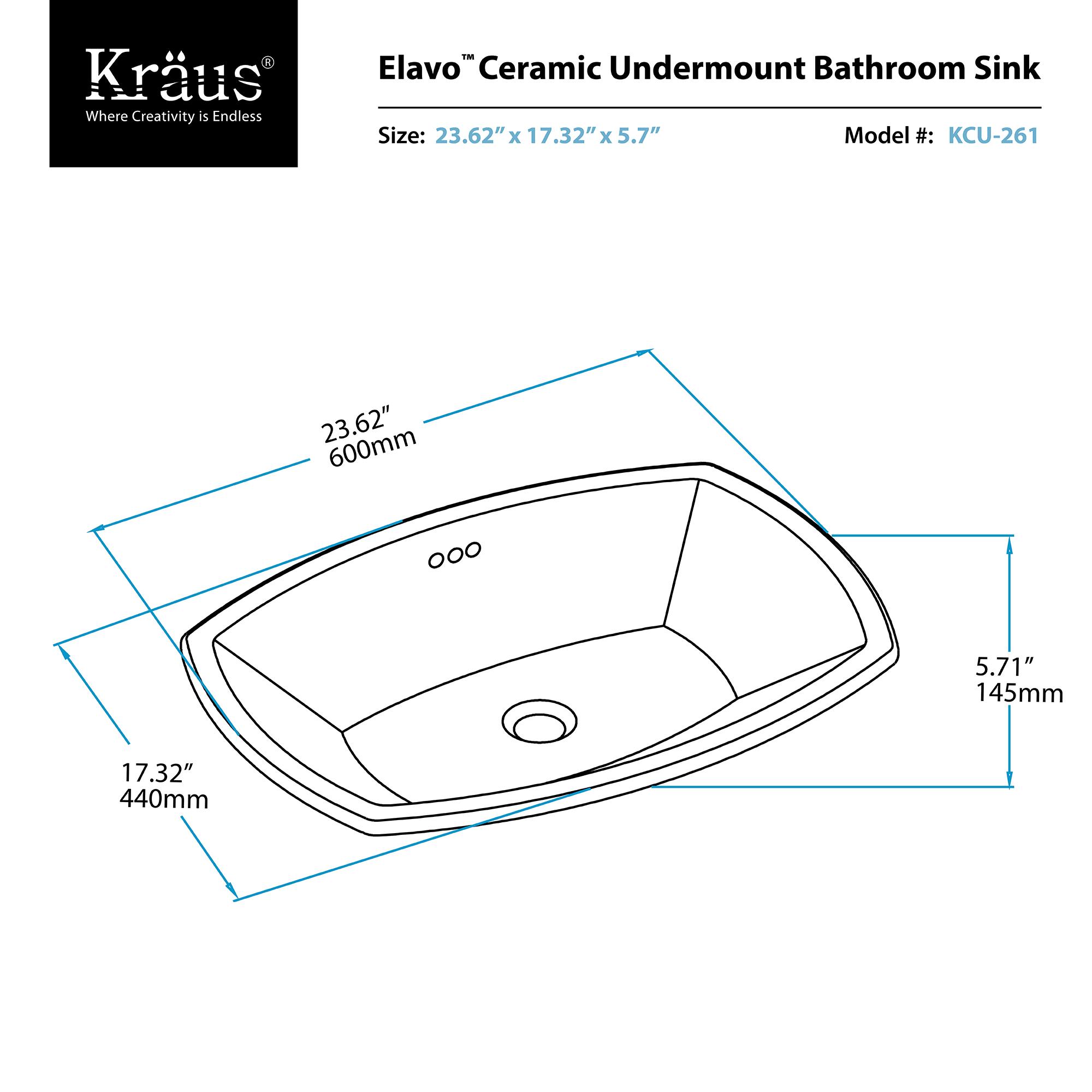 Bathroom Sinks Dimensions undermount bathroom sinks dimensions ~ descargas-mundiales