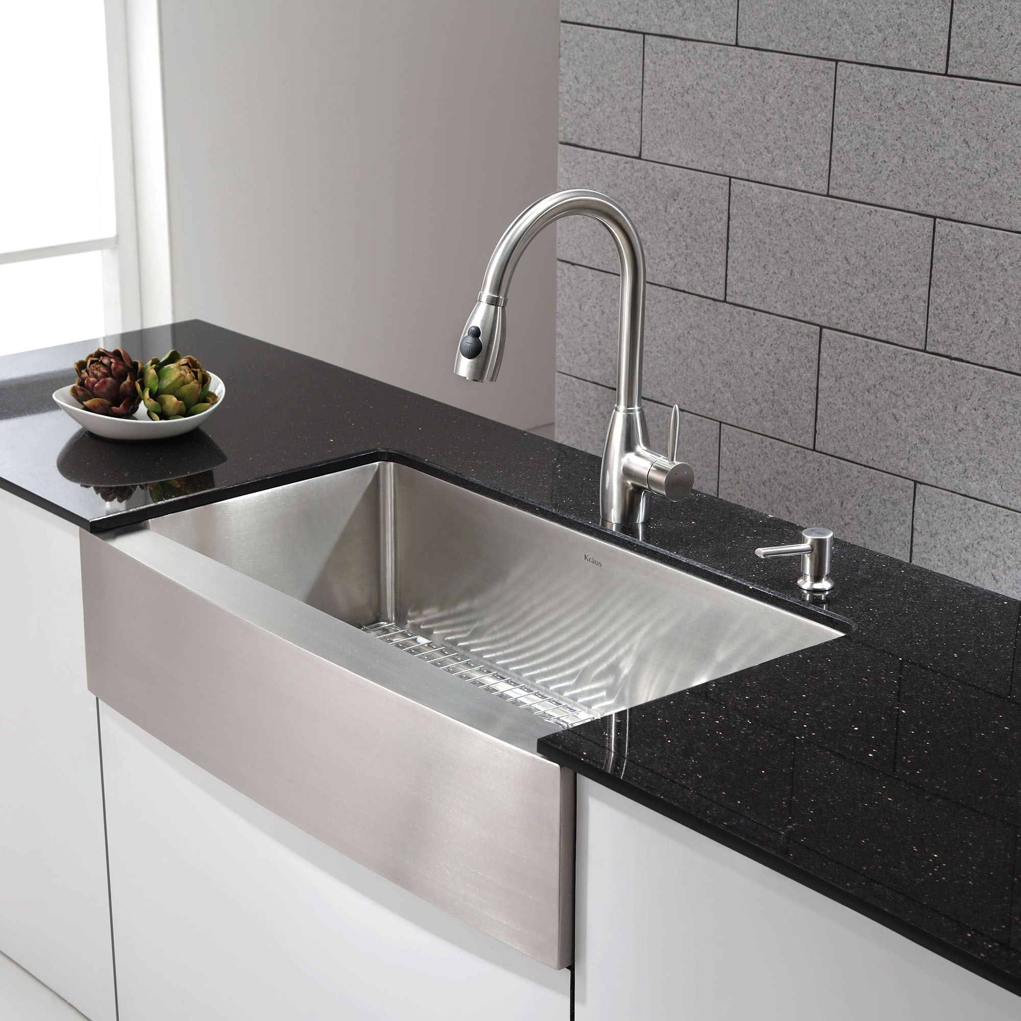 Stainless Steel Undermount Bathroom Sink | Undermount Stainless Steel Sinks  | Drop in Farmhouse Sink