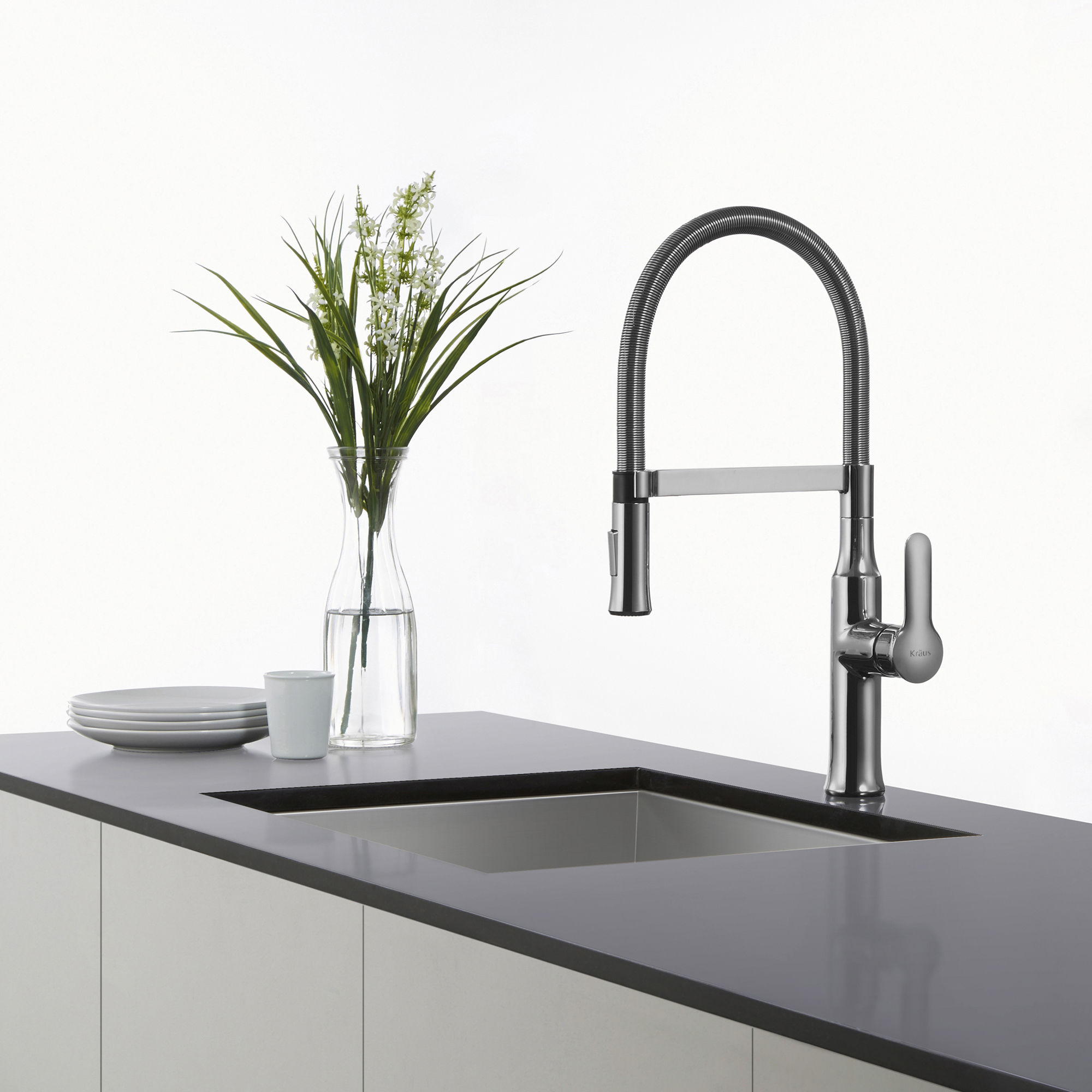 faucet farmhouse steel faucets bowl with and p single kraus kitchen dispenser stainless sink soap