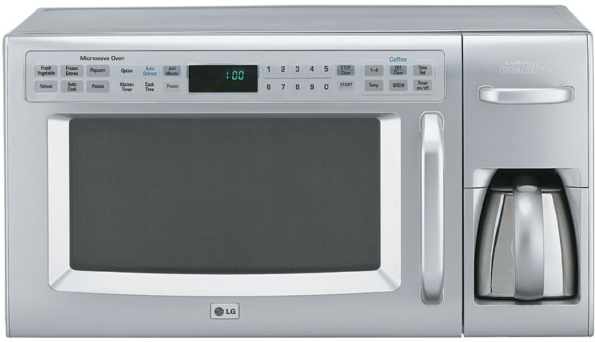 Combination Microwave Toaster Oven Combo Coffee Maker
