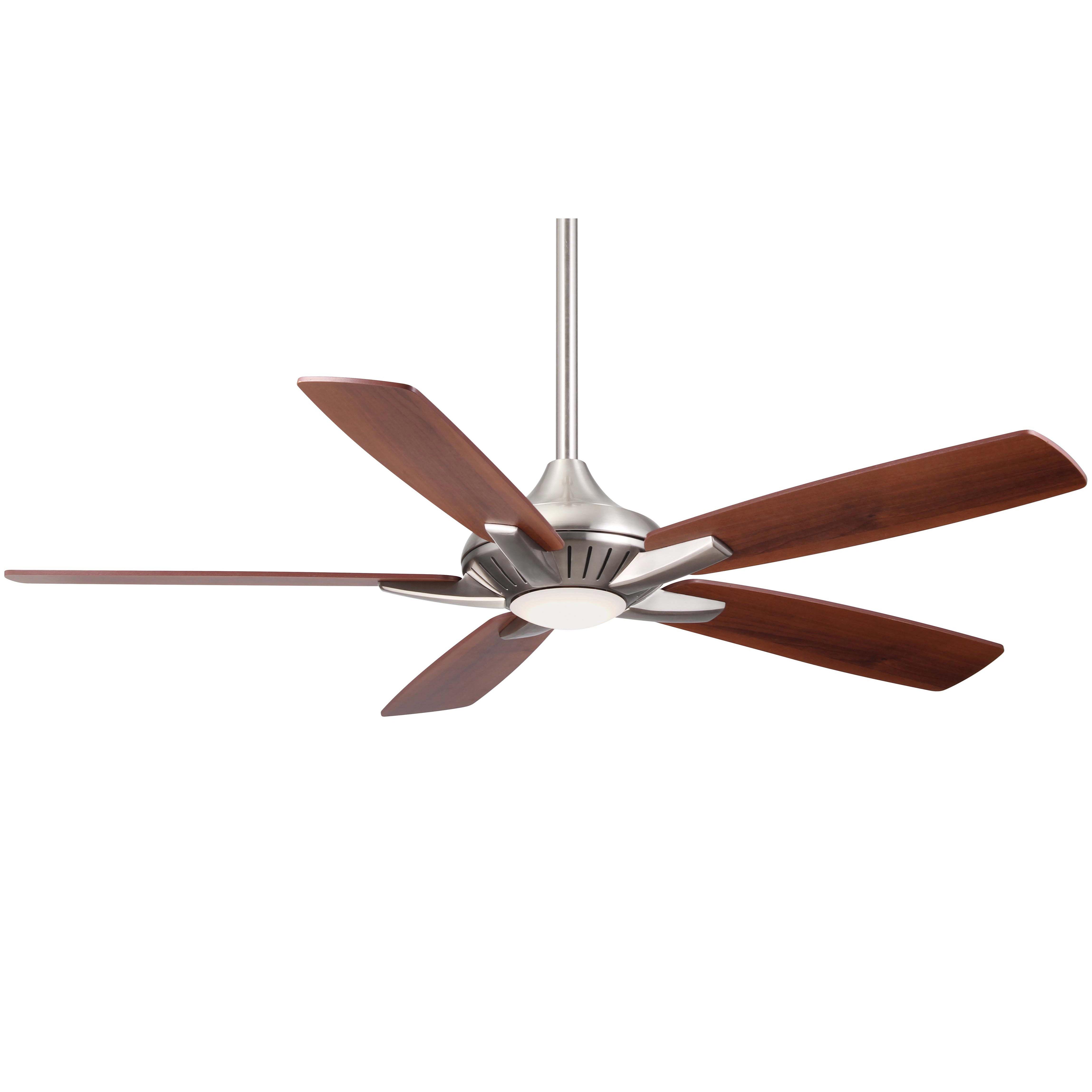 "MinkaAire F1000 BN Brushed Nickel 52"" 5 Blade Indoor Ceiling Fan"