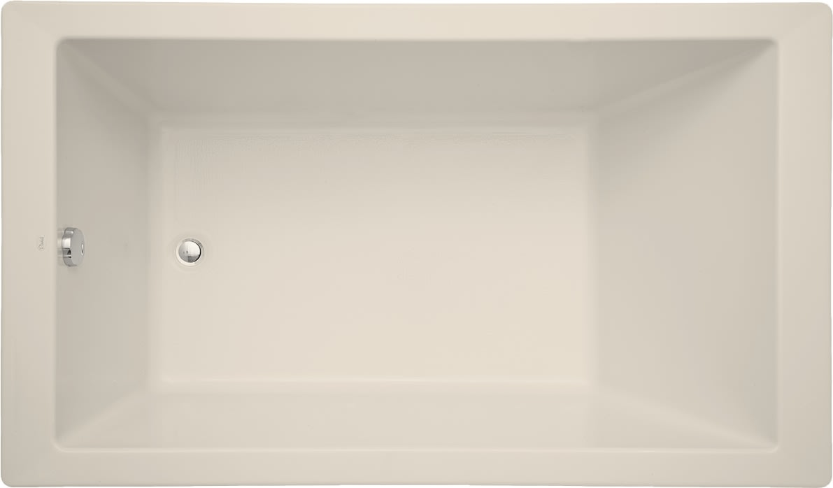 Mirabelle Mirsks6036wh White Sitka 60 X 36 Acrylic Soaking Bathtub