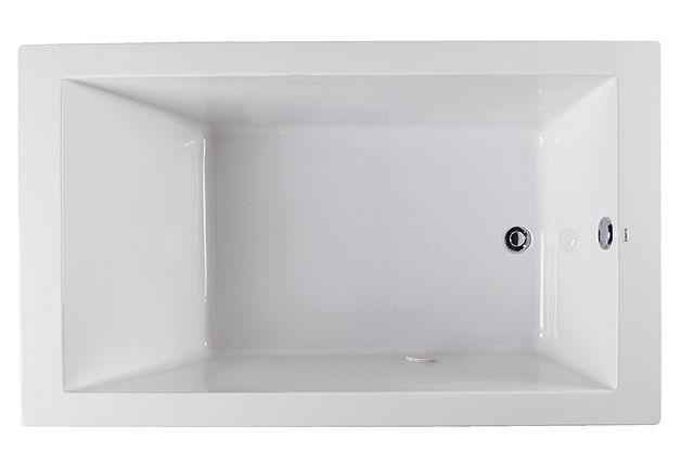 idea shower bathroom combo bathtub houzz san francisco white tub with edenton traditional in mirabelle