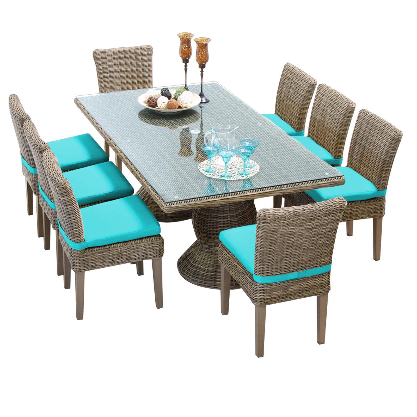 Miseno Sets Outdoor Furniture - MPF-CPCDRECTKIT8C