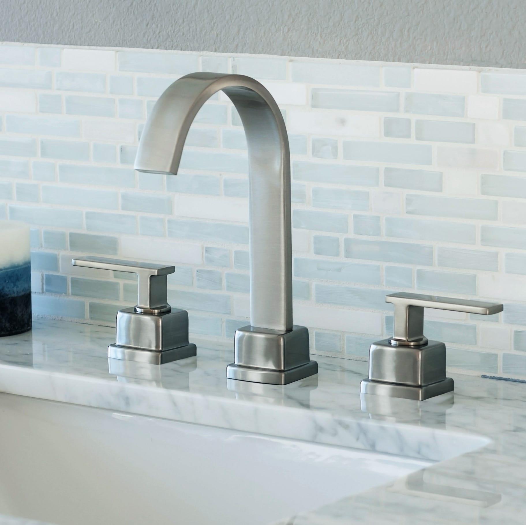 Miseno MNO441BN Brushed Nickel Elysa-R Widespread Bathroom Faucet ...