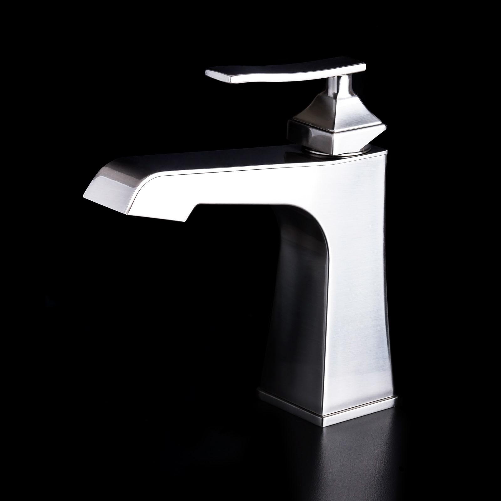 Miseno MNO811BN Brushed Nickel Elysa-B Single Hole Bathroom Faucet ...