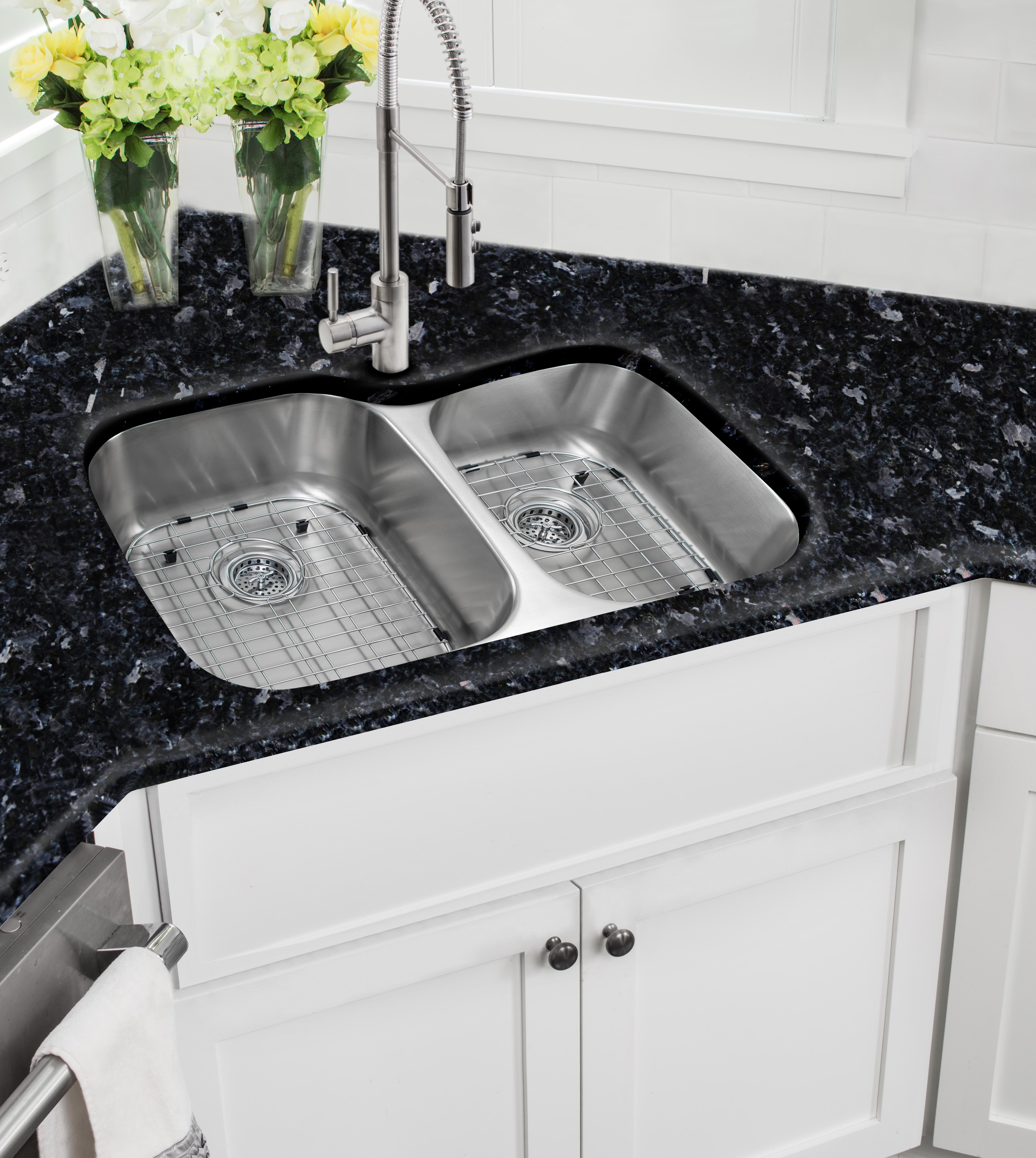 60 40 Kitchen Sink Faucet Placement 60 40 Sink Kitchen Faucet