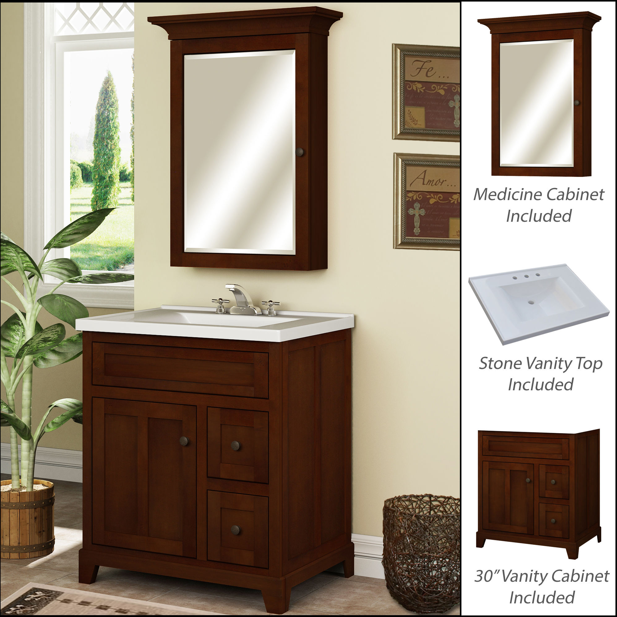 white gw bathroom usa in set vanities vanity gloss js bailey virtu single