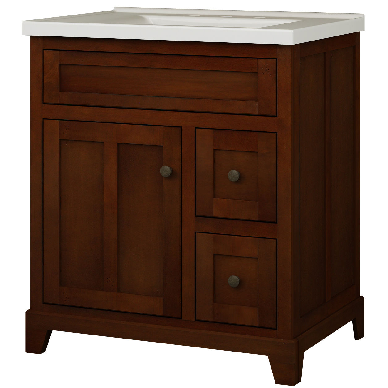 Miseno Mvgh30com Smoked Amber 30 Bathroom Vanity Set Cabinet Stone Top And Medicine Included Faucetdirect Com