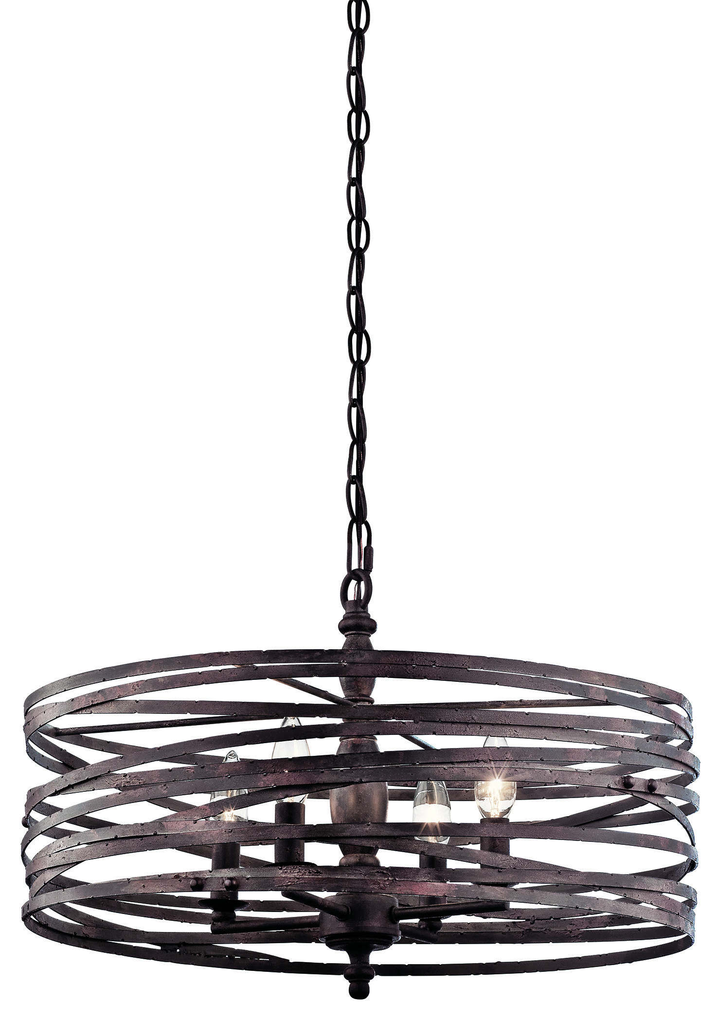 Chandeliers annata 4 light chandelier with 72 adjustable chain arubaitofo Image collections