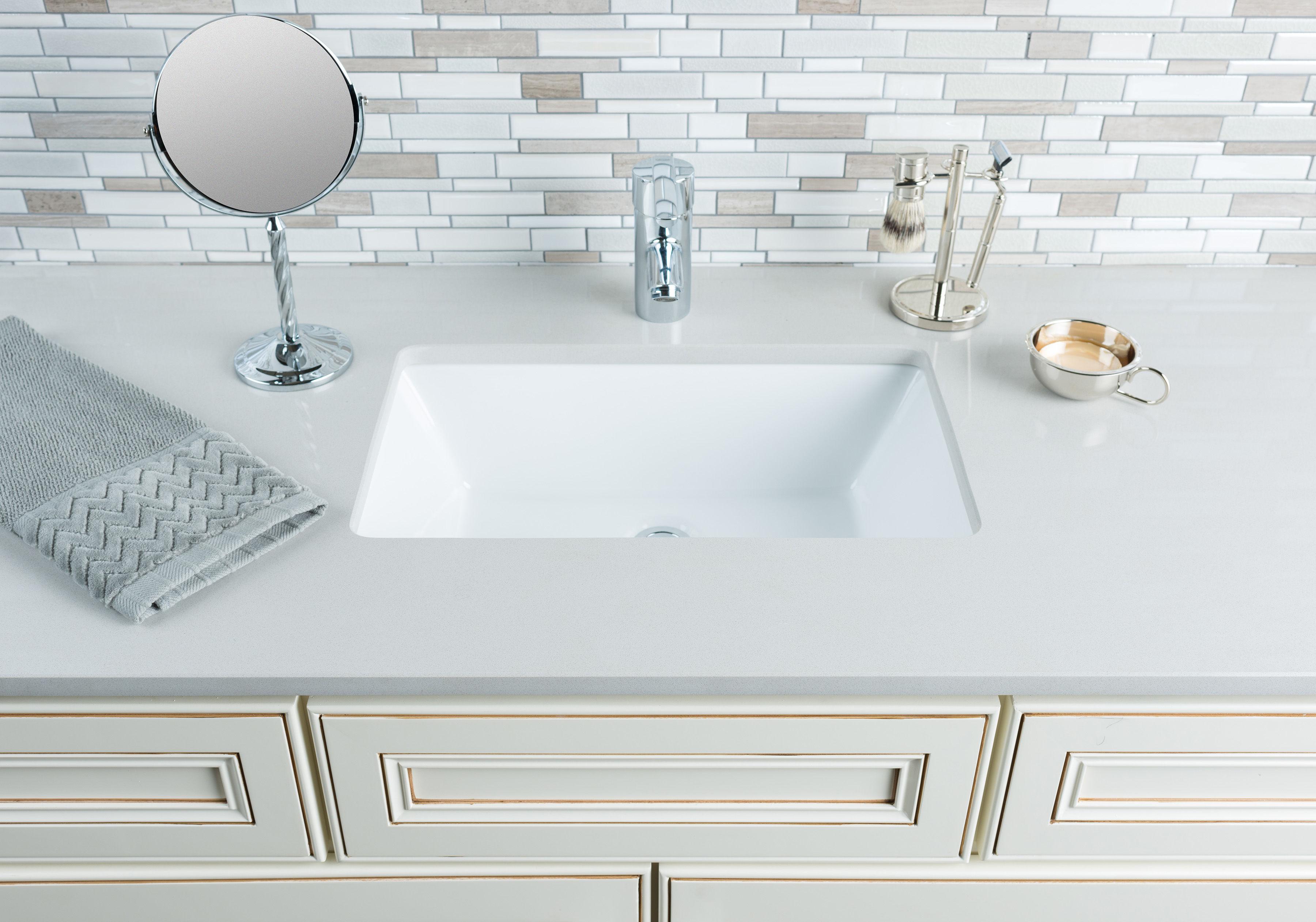 Undermount Rectangular Bathroom Sink miseno mno2113ru bathroom sink - build