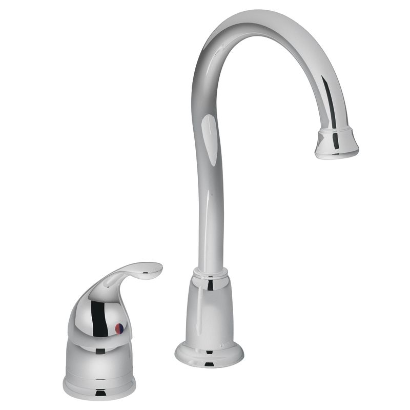 Moen 4905 Chrome Single Handle Bar Faucet From The Camerist Collection    Faucet.com