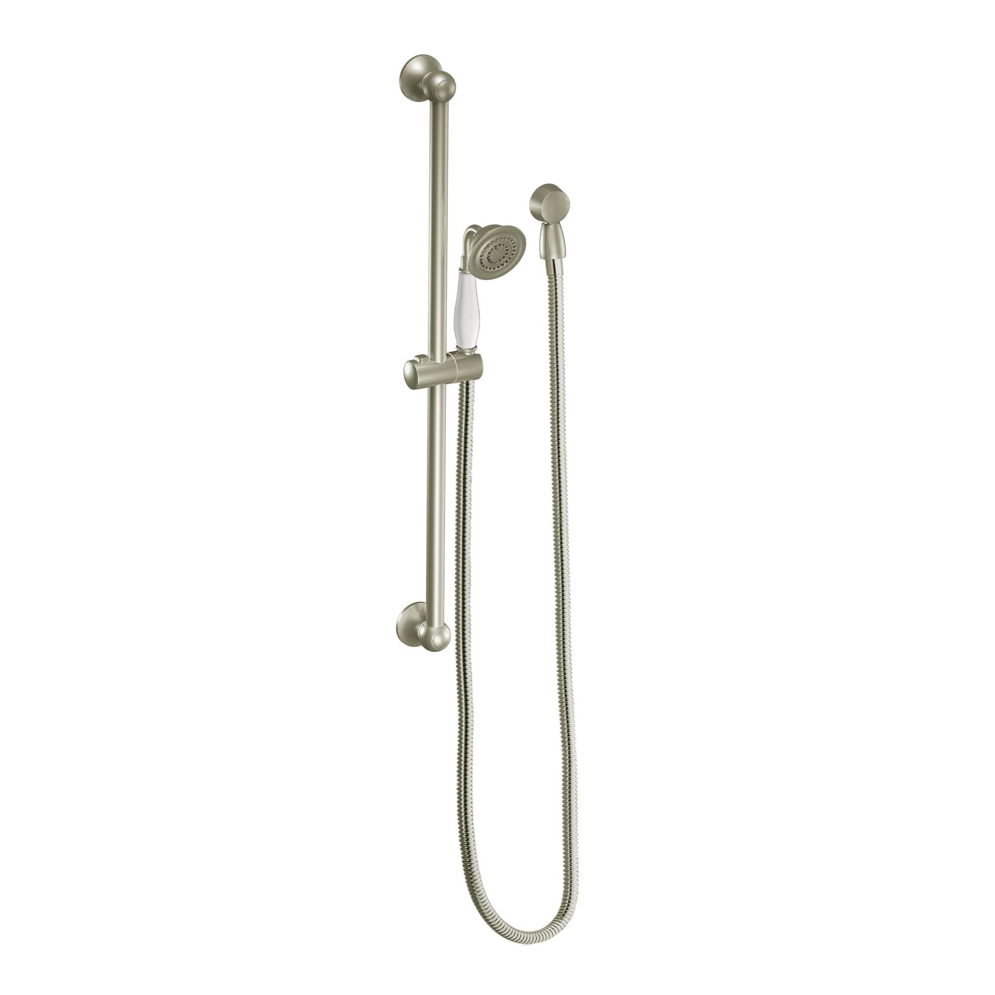 Moen 3025BN Brushed Nickel Pressure Balanced Shower System with ...