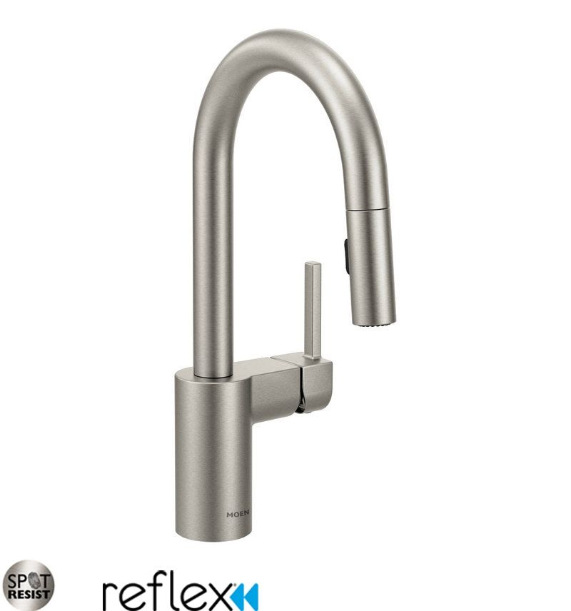 standard the foundations kitchen spout b faucets handle home in faucet delta chrome compressed n single