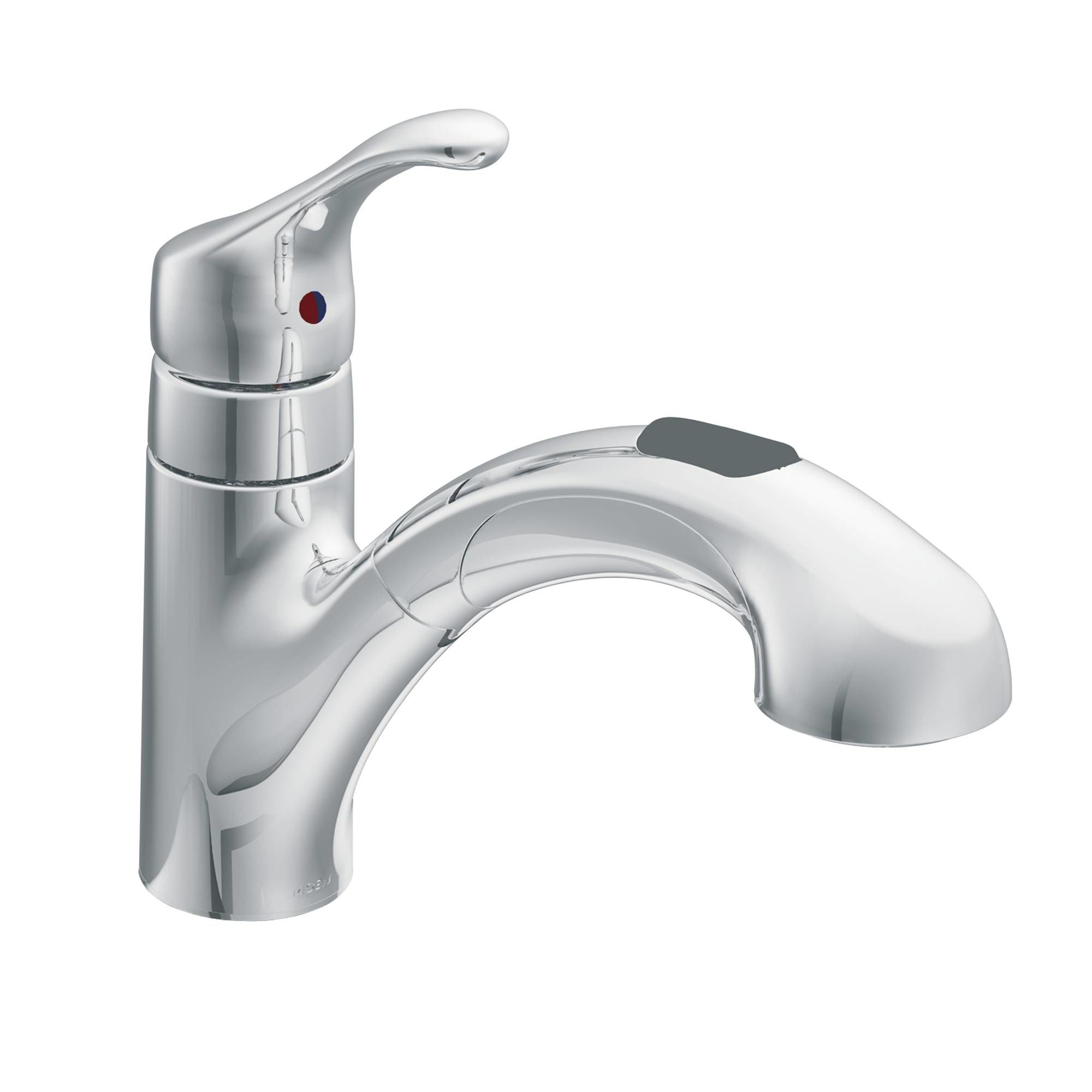 single with kitchen moen standard handle side faucet faucets banbury