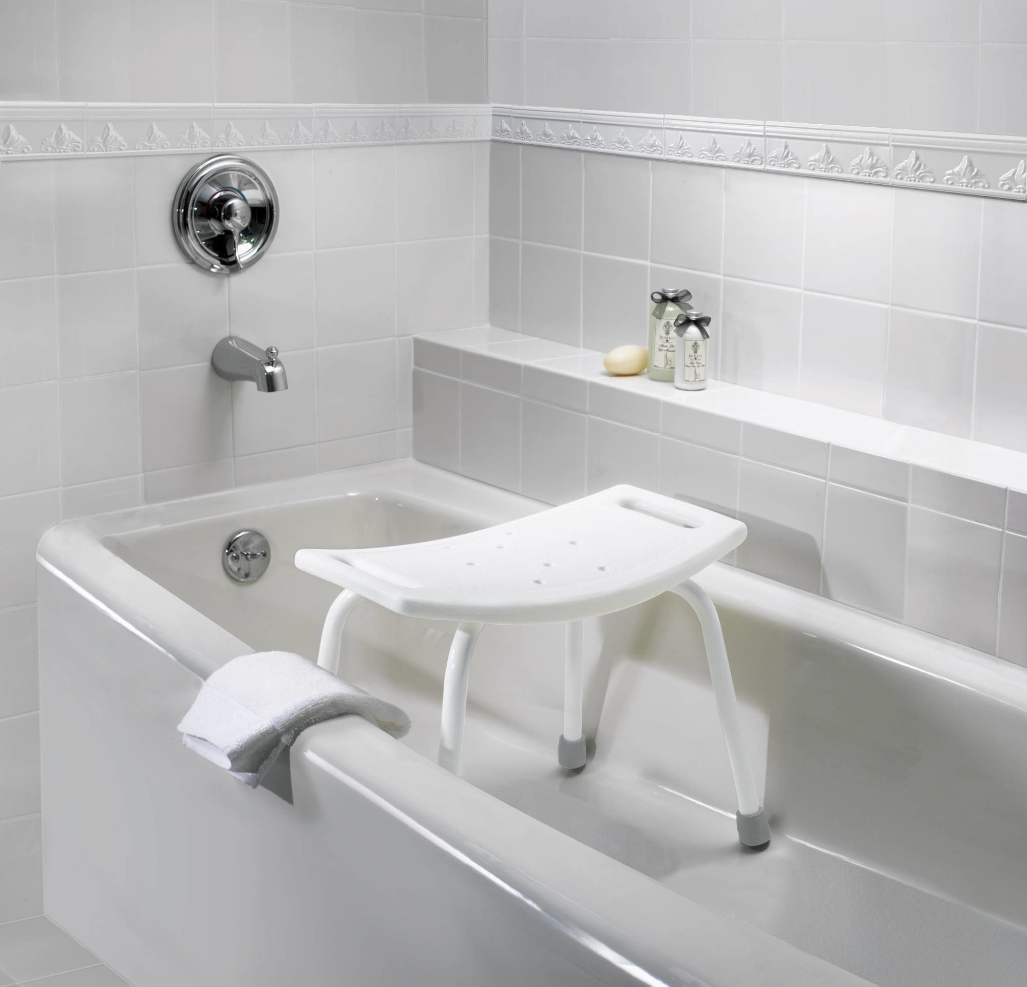 Moen CSIDN7025 Glacier Adjustable Shower Seat from the Home Care ...