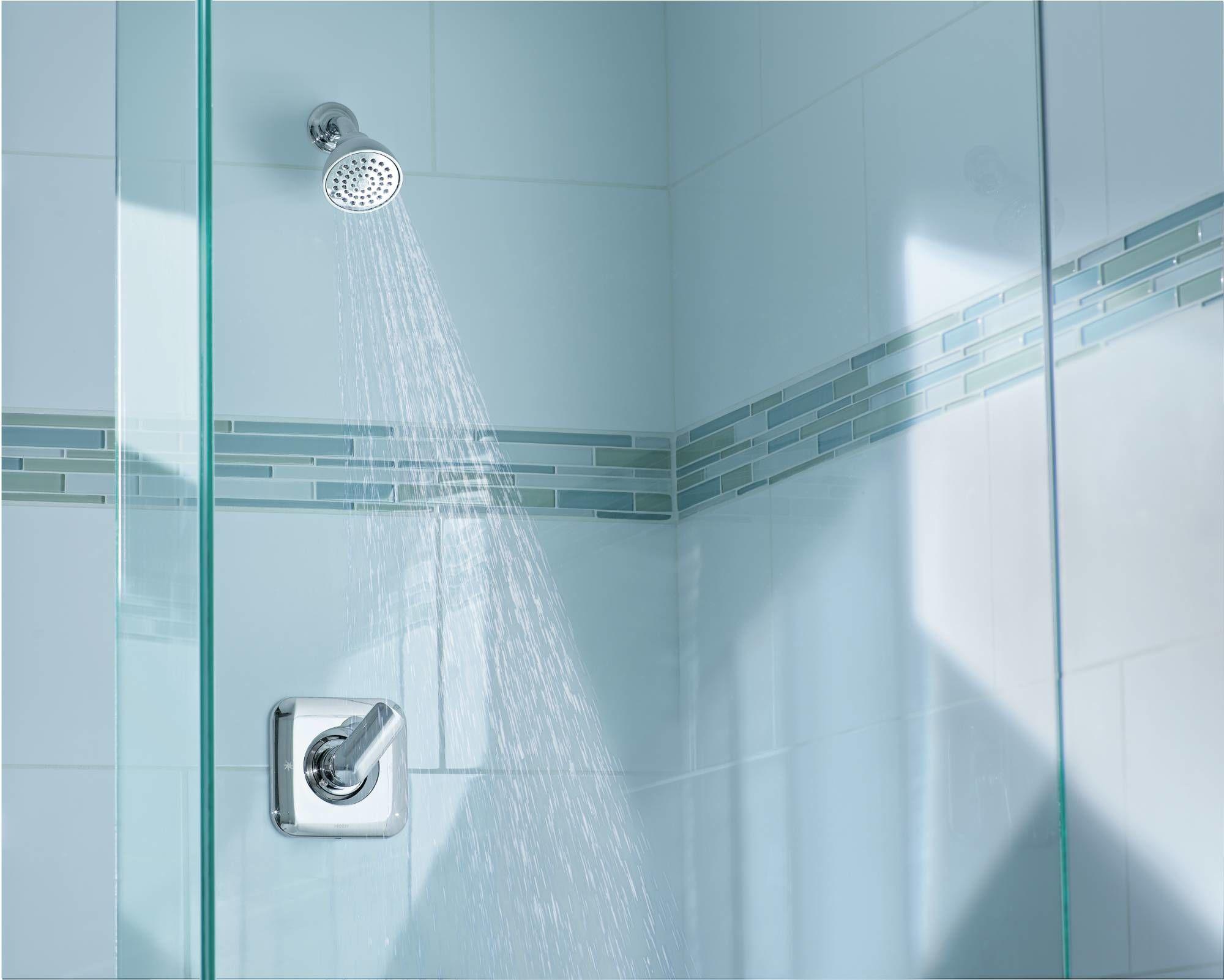Moen T2812 Chrome Rizon Posi-Temp® Shower Trim Only - Faucet.com