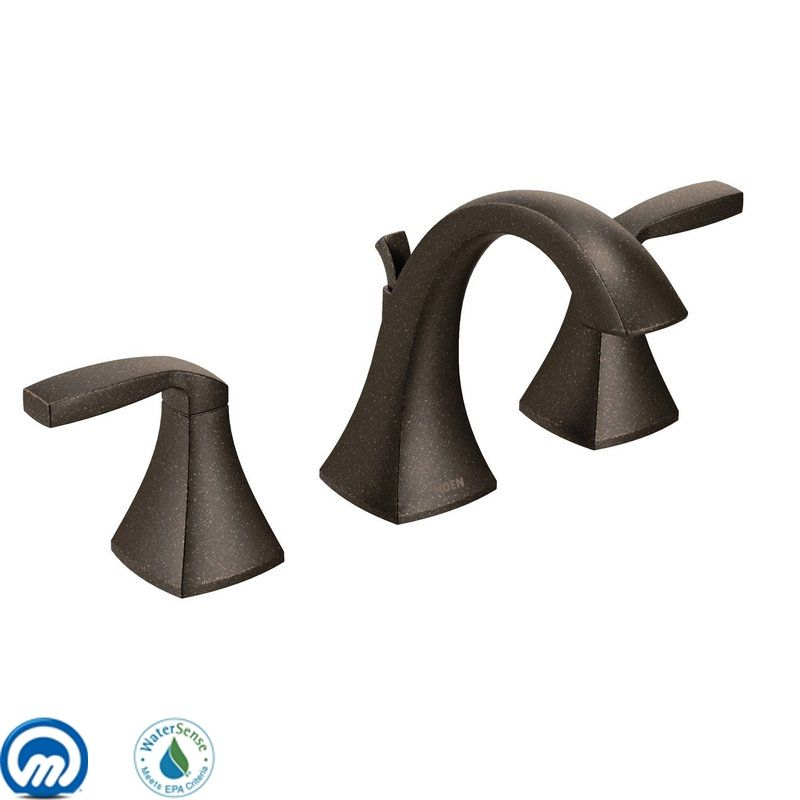 Moen T6905orb Oil Rubbed Bronze Double Handle Widespread Bathroom