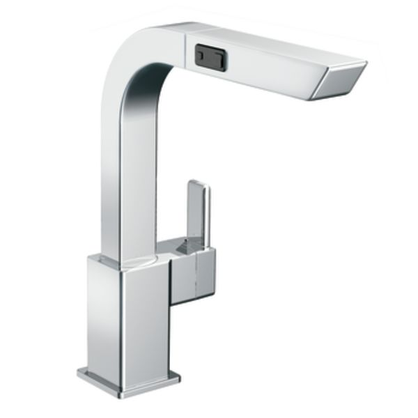 Moen S7597c Chrome Pullout Spray High Arc Kitchen Faucet From The 90