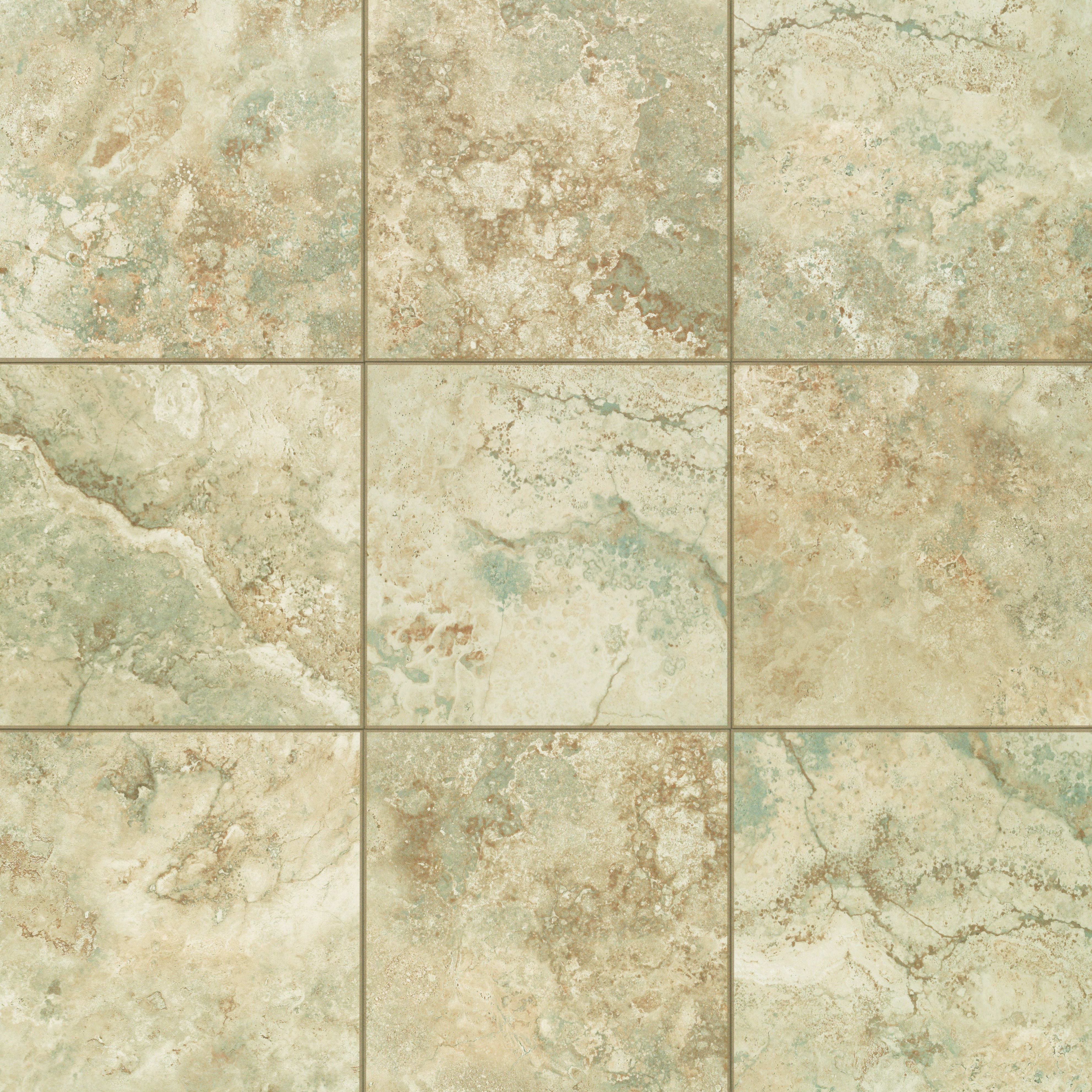 Mohawk Industries 15227 Almond E Ceramic Floor Tile 13 Inch X Sold By Sheet Floormall