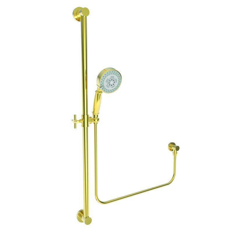 Newport Brass 280F/06 Antique Brass Multi-Function Hand Shower ...