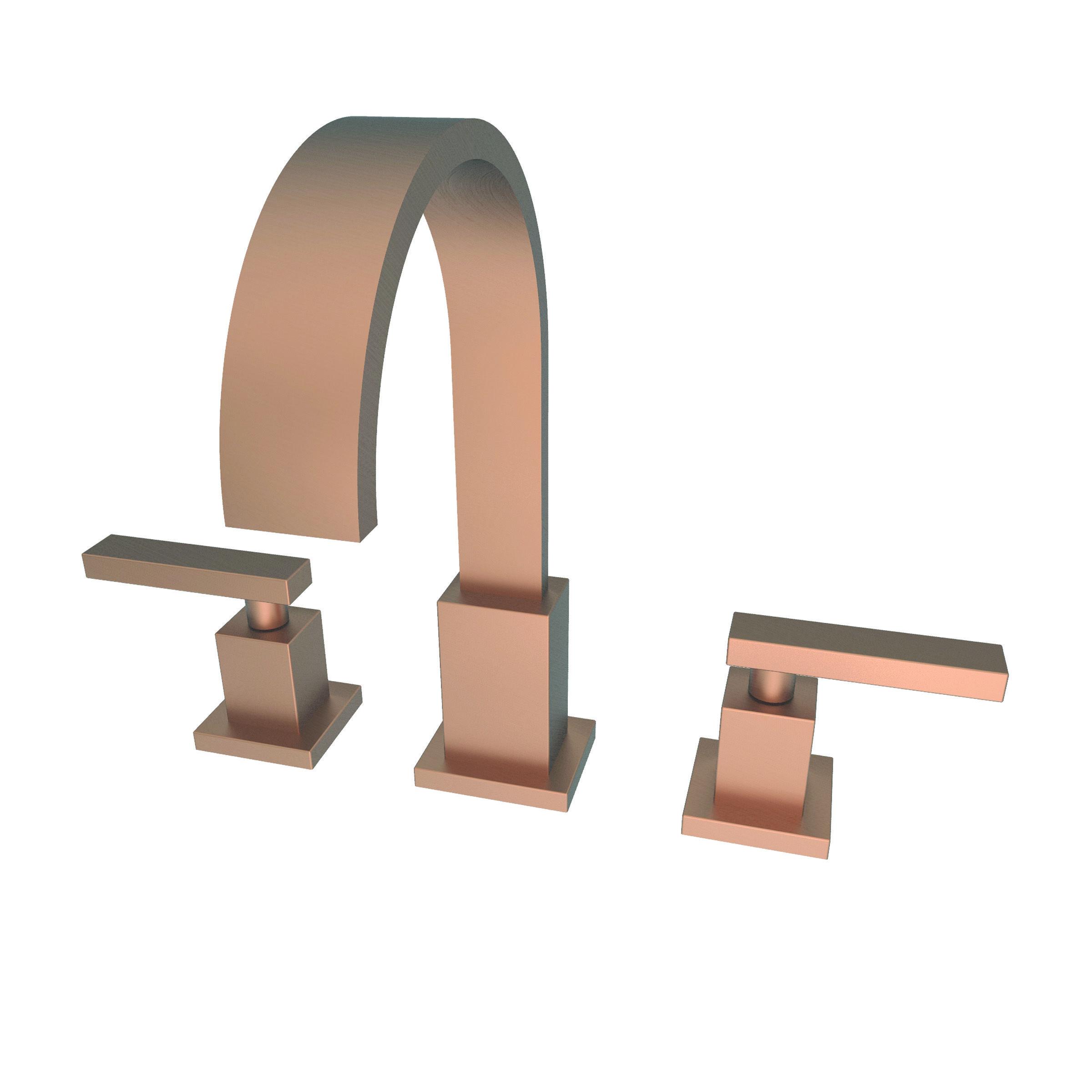 Newport Brass 2040/04 Satin Brass (PVD) Double Handle Widespread ...