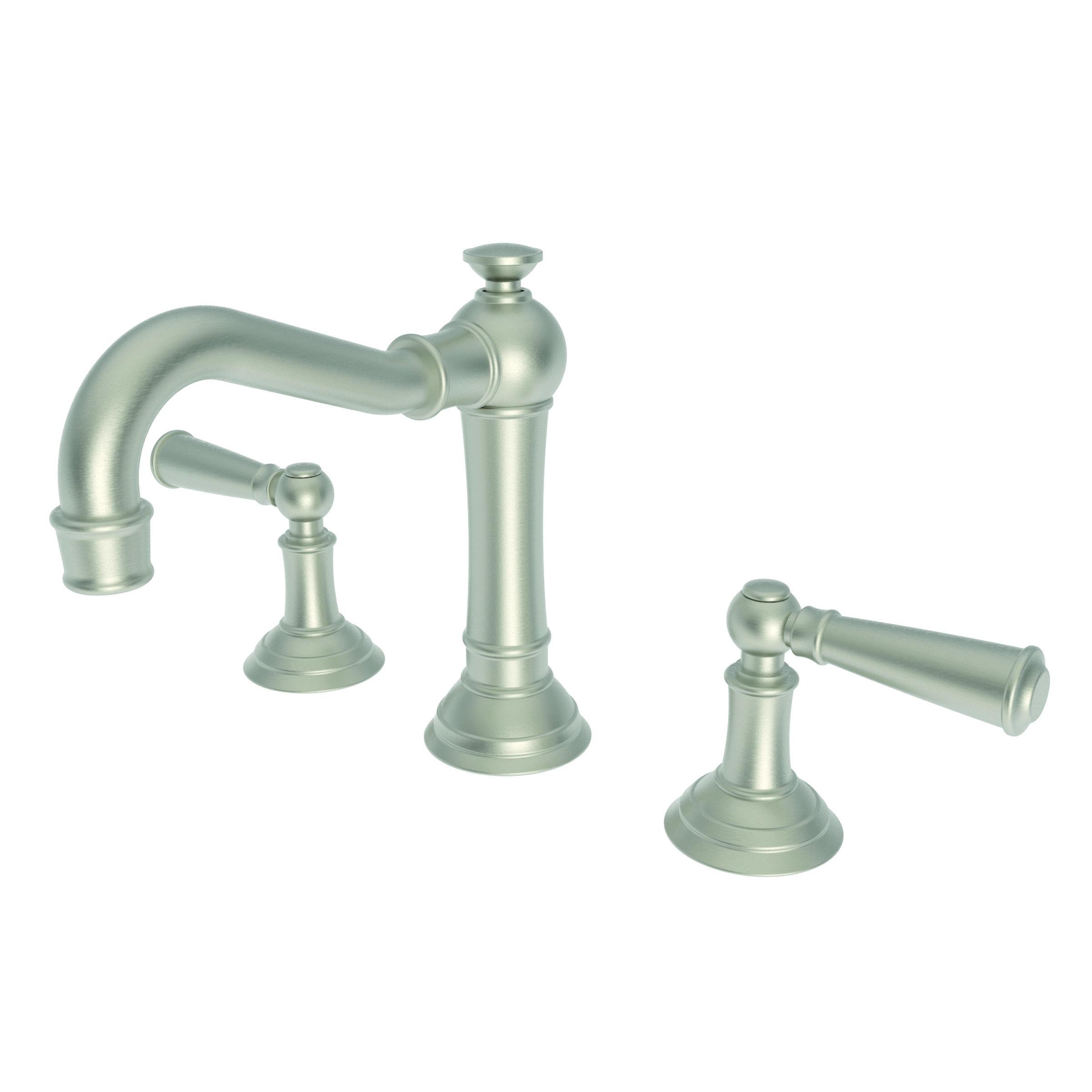 Newport Brass 2470 14 Gun Metal Double Handle Widespread Bathroom