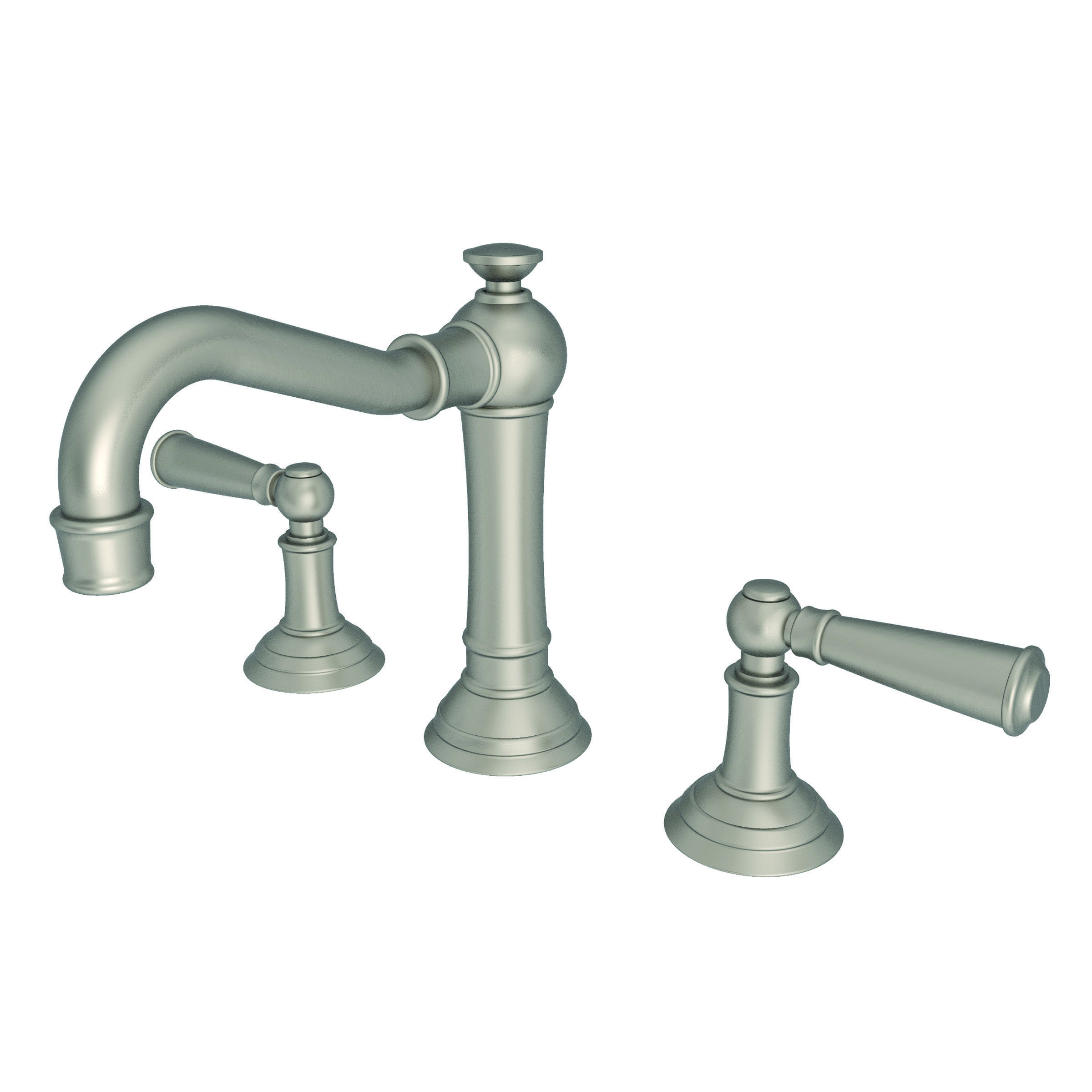 Newport Brass 2470/10 Satin Bronze (PVD) Double Handle Widespread ...