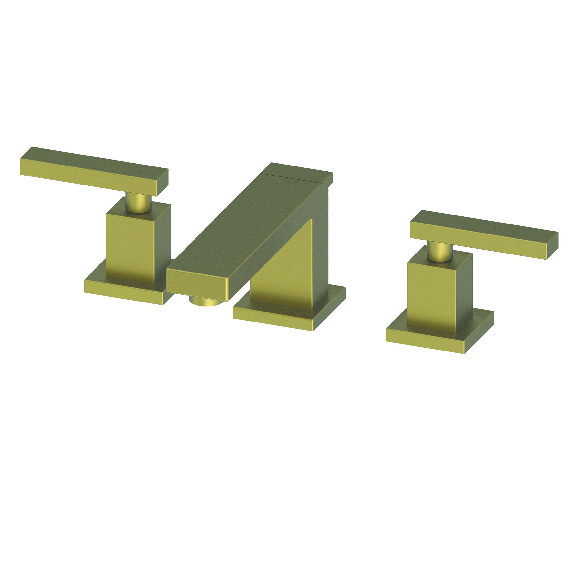 Newport Brass 2560/06 Antique Brass Skylar 1.2 GPM Widespread ...