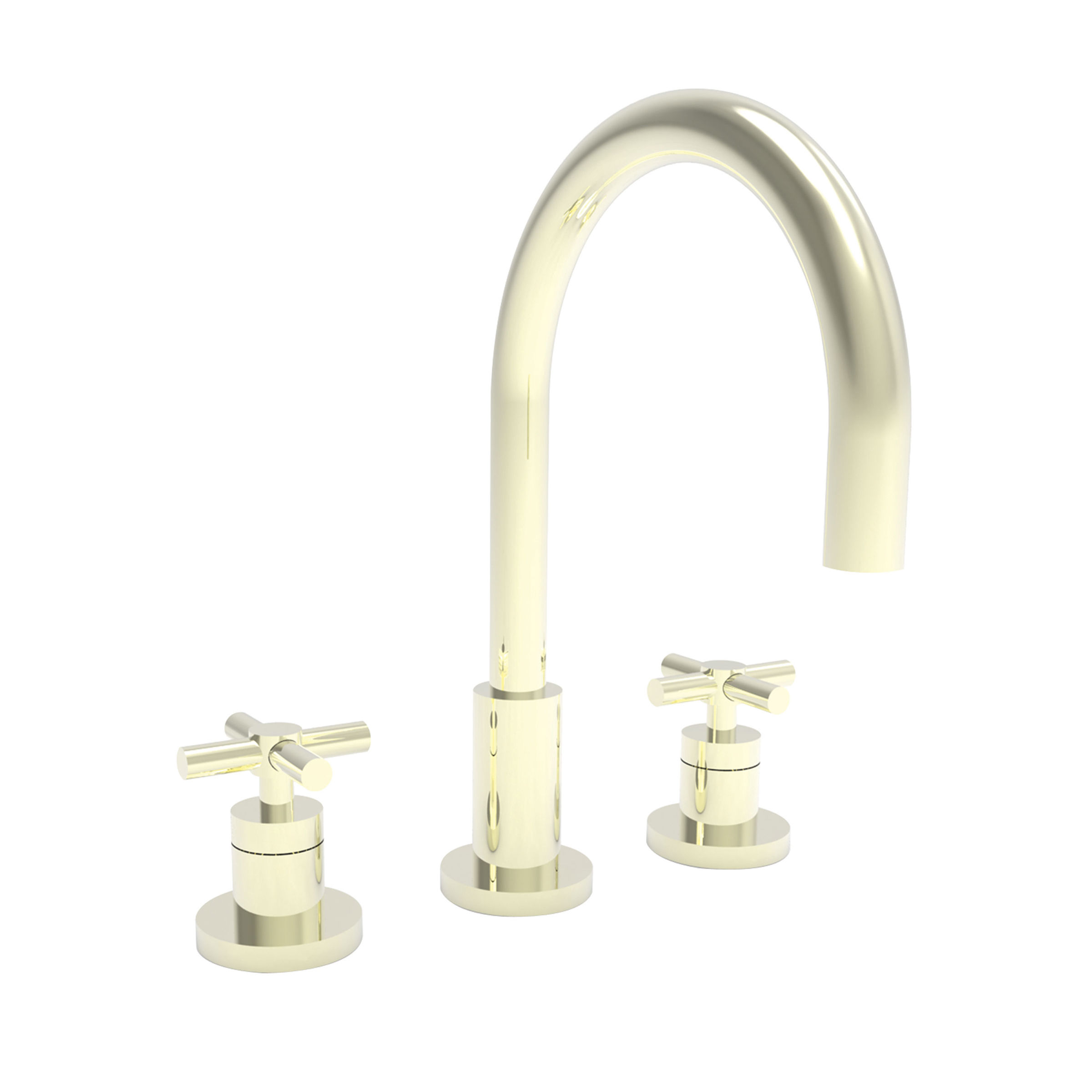 Newport Brass 990/15 Polished Nickel East Linear Double Handle ...
