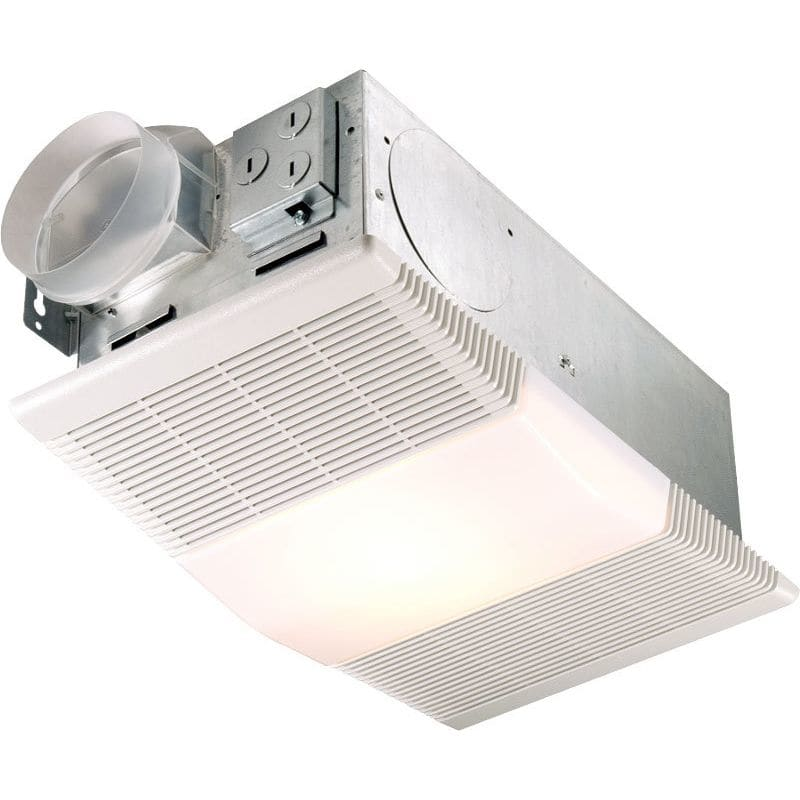 nutone 665rp white 70 cfm 4 sone ceiling mounted hvi certified