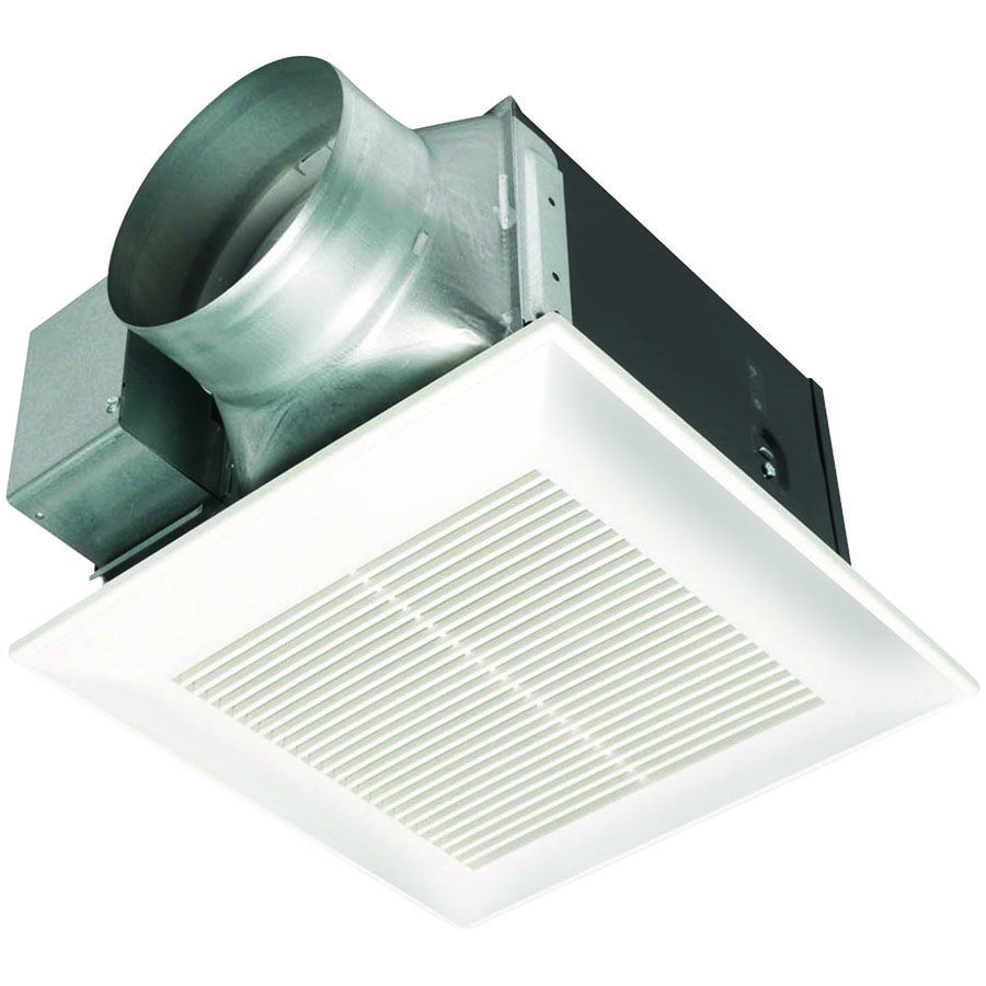 Bathroom extractor fans advice - Whisperceiling 150 Cfm 0 3 Sone Ceiling Mounted Energy Star Rated Bath Fan