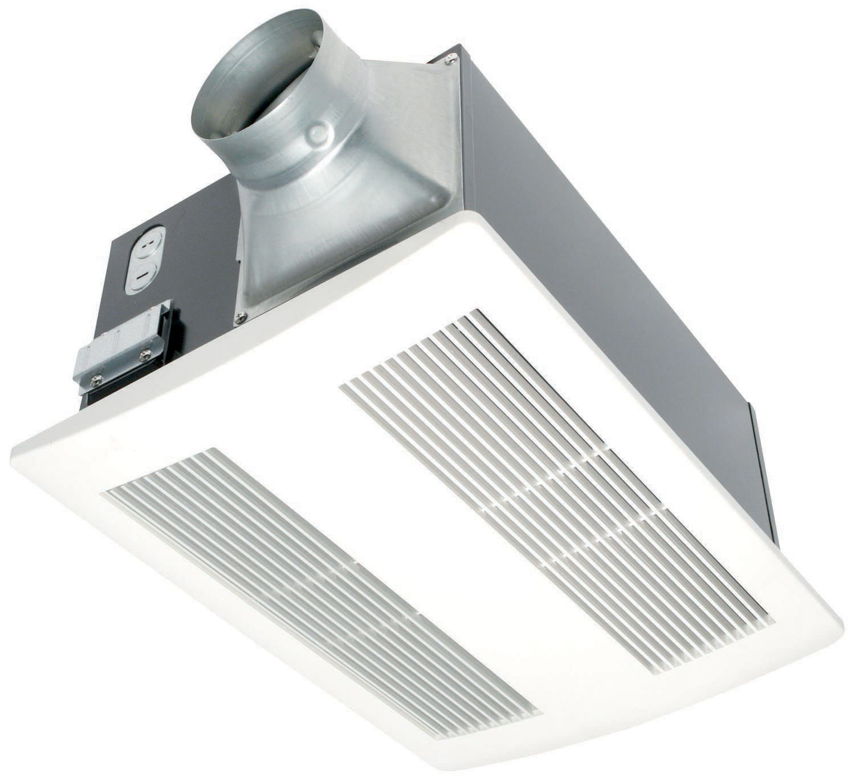 Panasonic Fv 11vh2 White Whisperwarm, Bathroom Fan And Heater Combo
