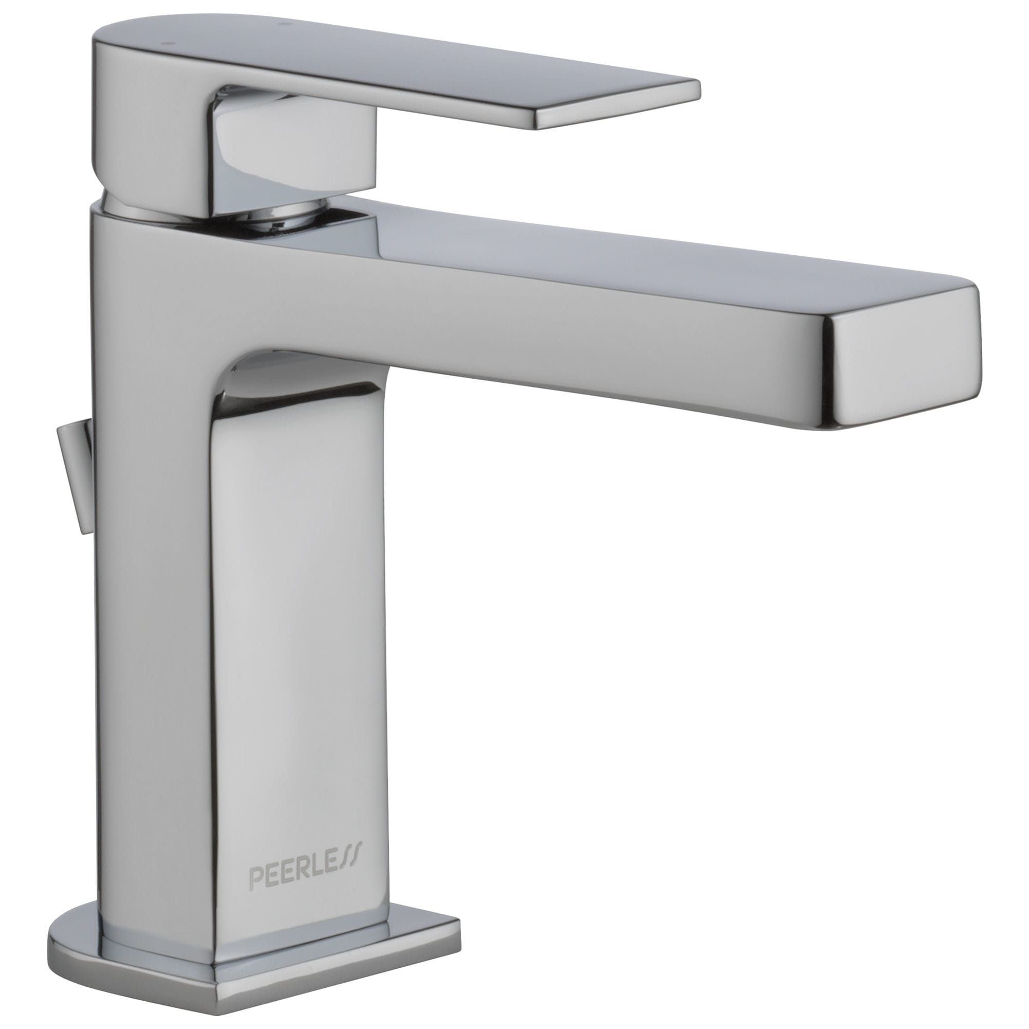Peerless P1519lf 0 5 Chrome Xander 0 5 Gpm Single Hole Bathroom Faucet With Pop Up Drain Assembly Faucet Com