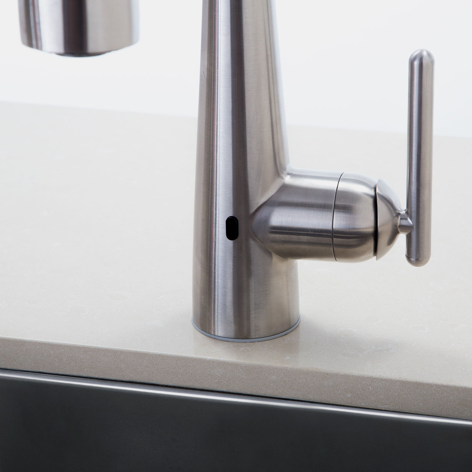 Pfister GT529-ELC Polished Chrome Lita React Touchless Kitchen ...