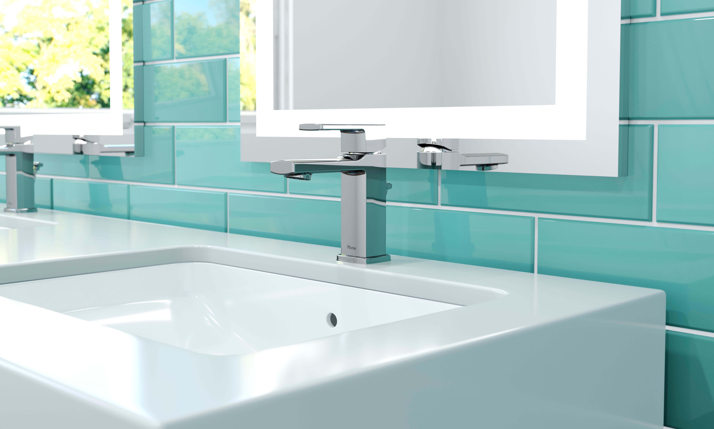 Pfister LG42-DA0B Matte Black Deckard 1.2 GPM Single Hole Bathroom ...